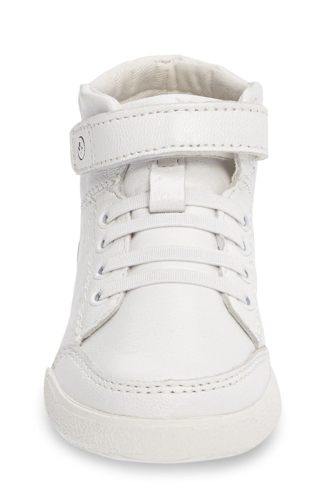 Alternate Image 3  - Stride Rite Stone High Top Sneaker (Baby, Walker & Toddler)