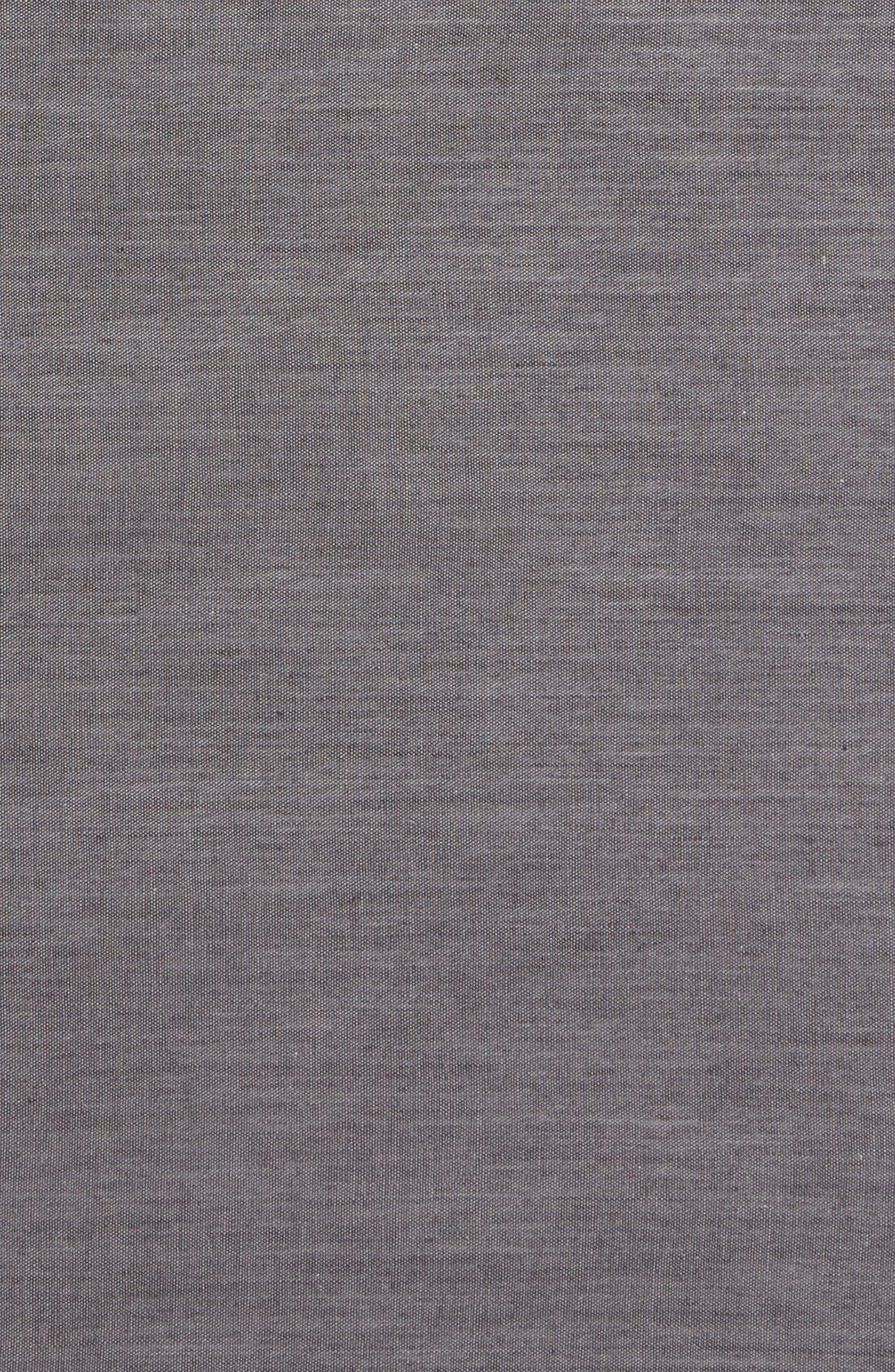 Alternate Image 3  - The Tie Bar Chambray Cotton Pocket Square