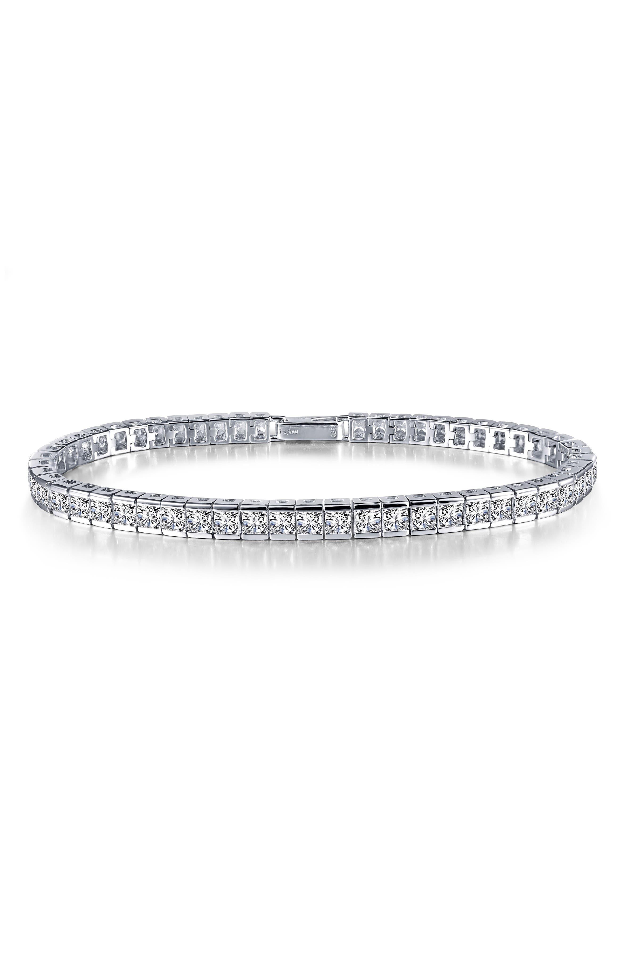 Main Image - Lafonn Princess Cut Tennis Bracelet