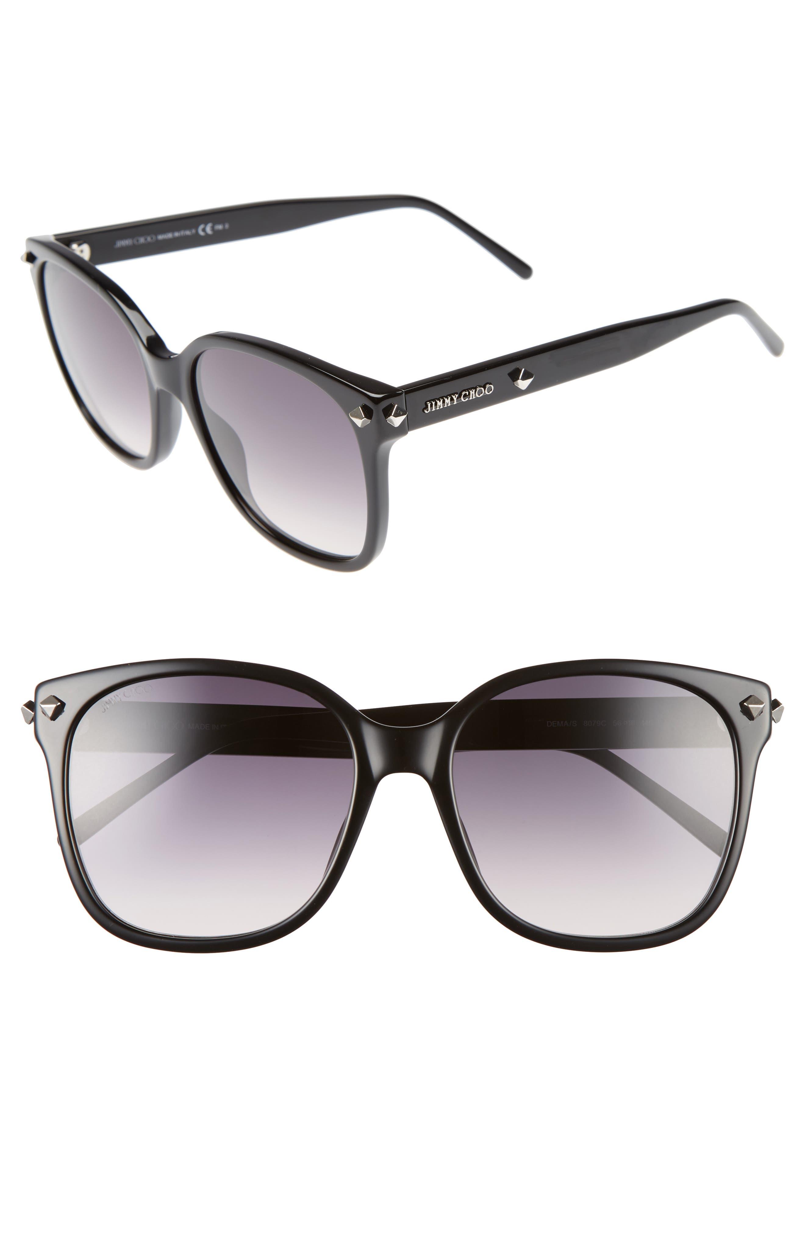 Jimmy Choo Demas 56mm Sunglasses