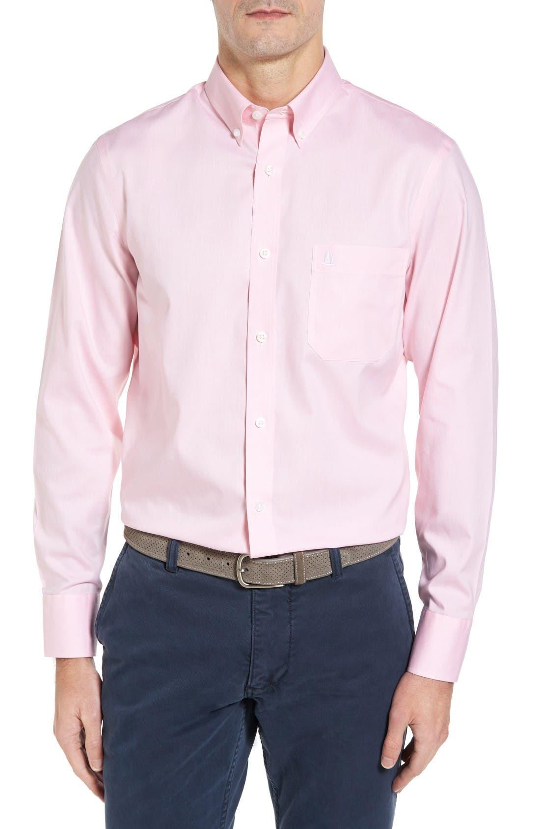Nordstrom Men's Shop Smartcare™ Oxford Sport Shirt (Regular & Tall)