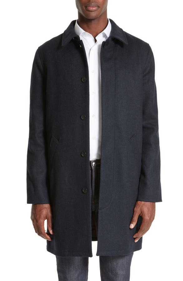 A.P.C. Wool Mac Coat | Nordstrom