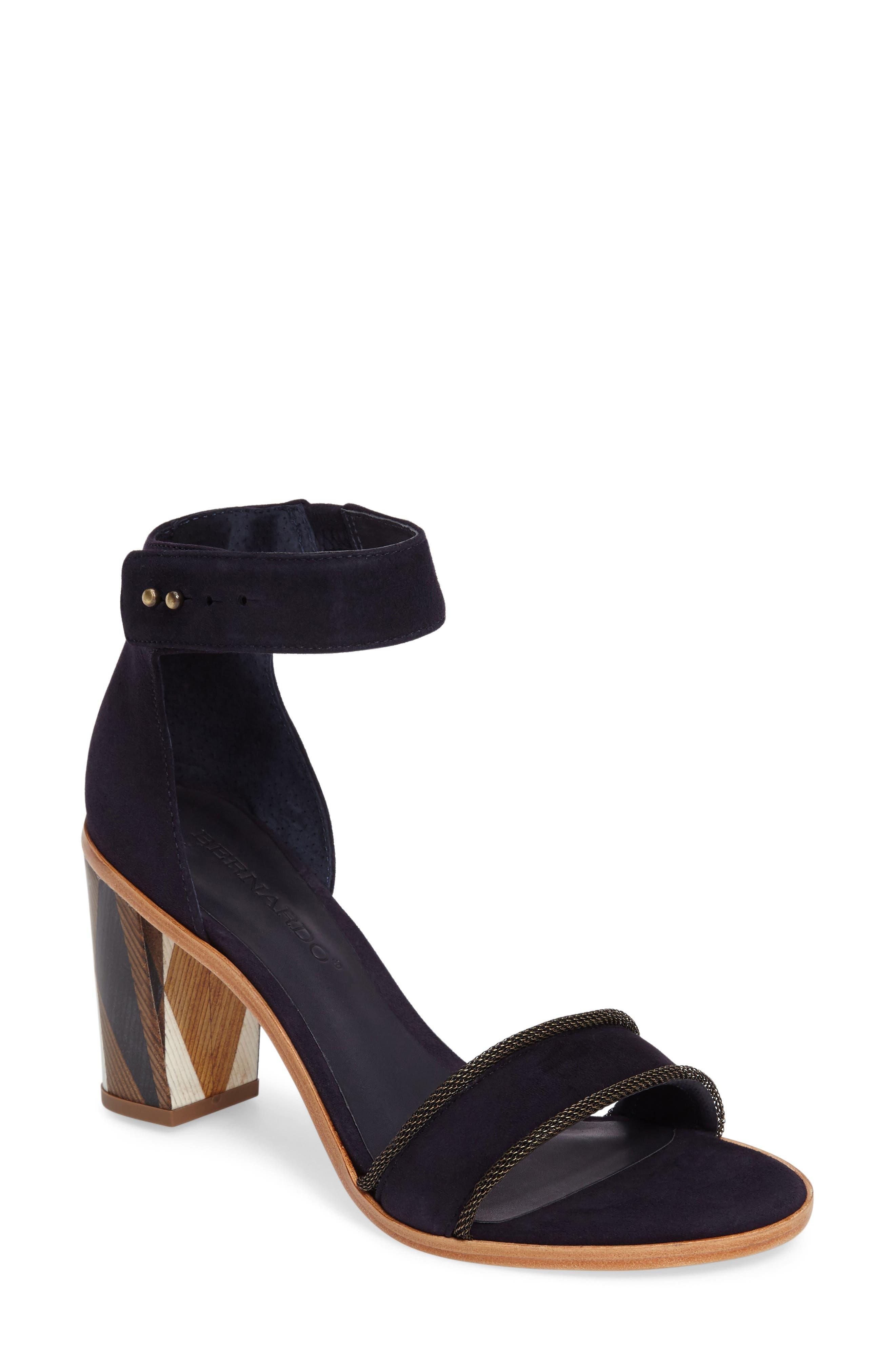 Bernardo Hayden Ankle Strap Sandal (Women)