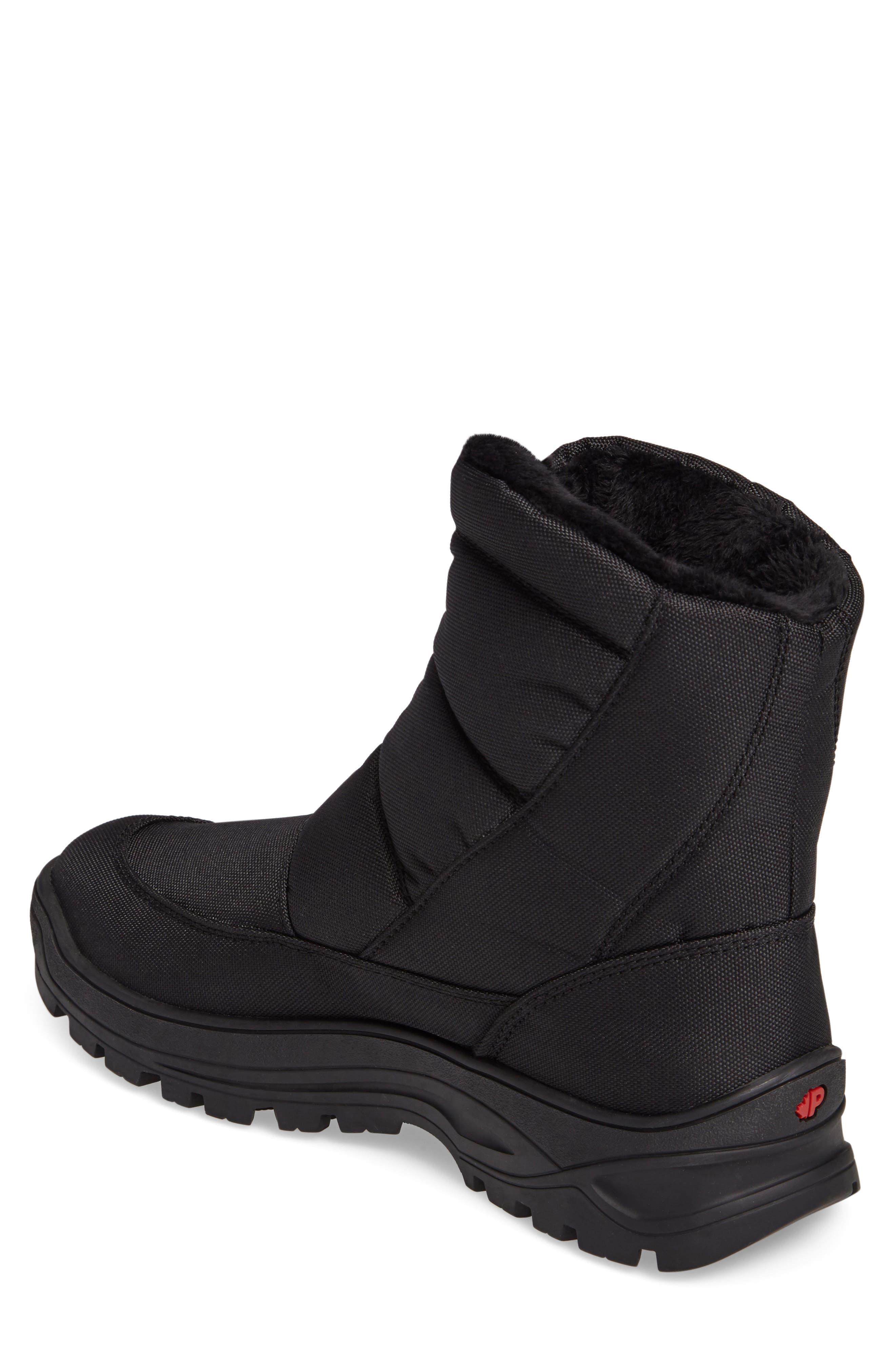 Icepack Boot with Faux Fur Lining,                             Alternate thumbnail 2, color,                             Black