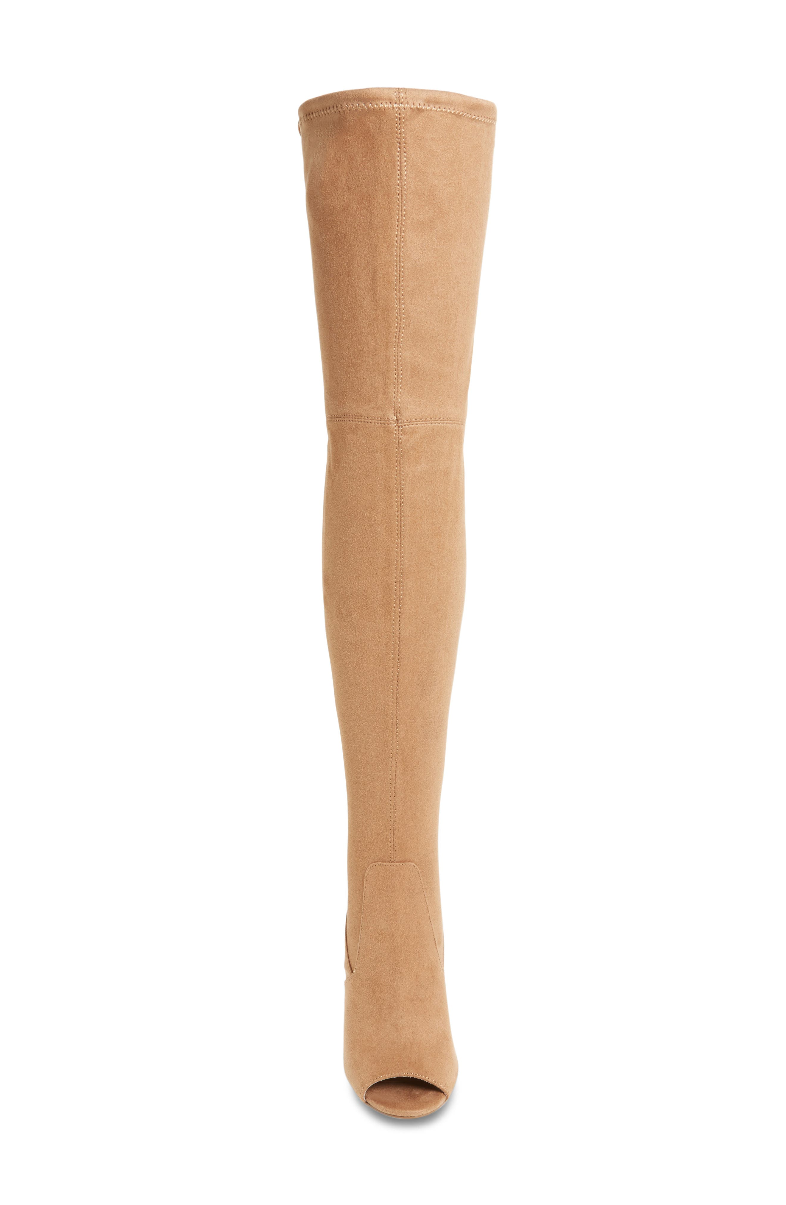 Alternate Image 3  - Steve Madden Elliana Over the Knee Open Toe Boot (Women)