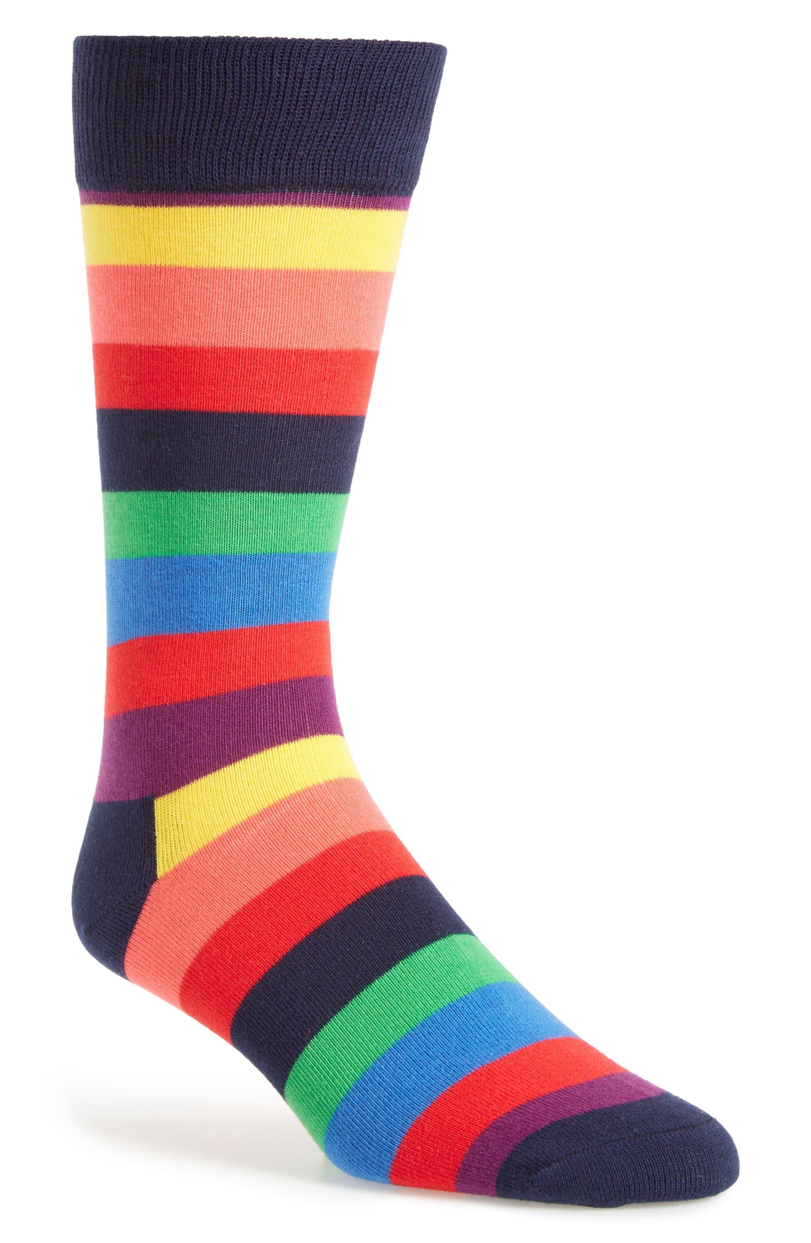 Main Image - Happy Socks Stripe Socks