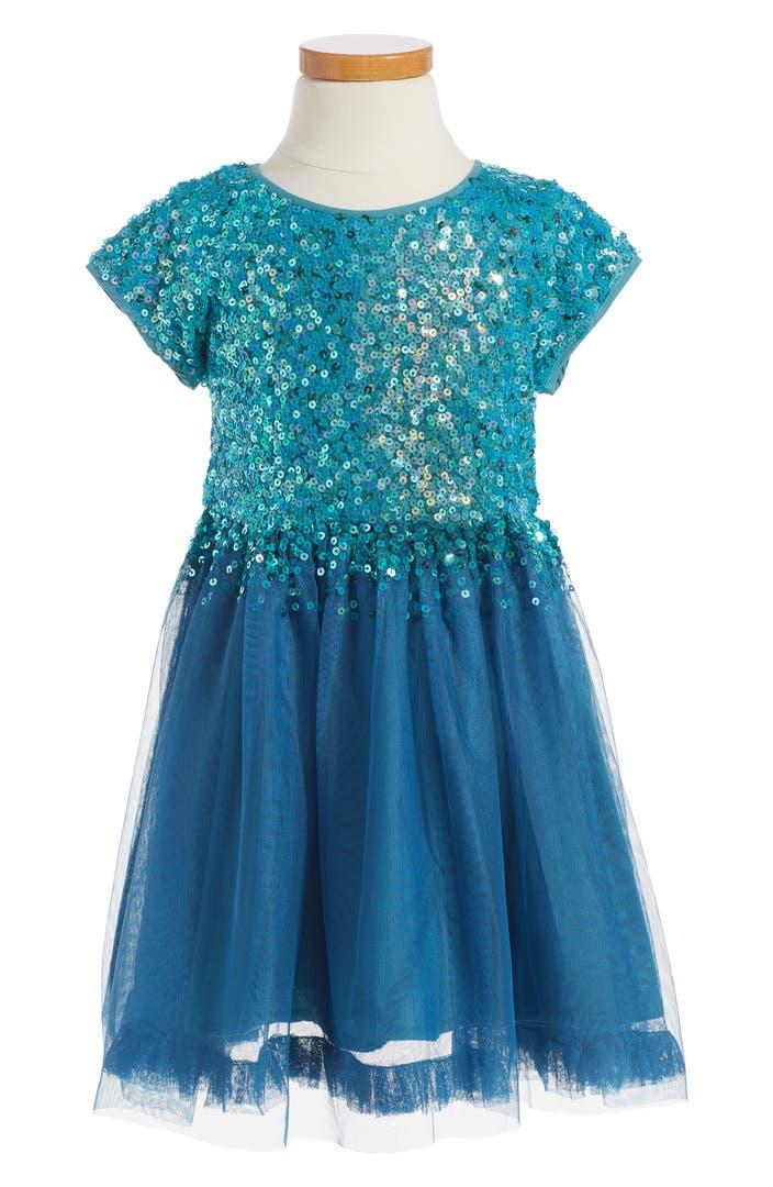 Mini boden sequin tulle dress toddler girls little girls for Shop mini boden