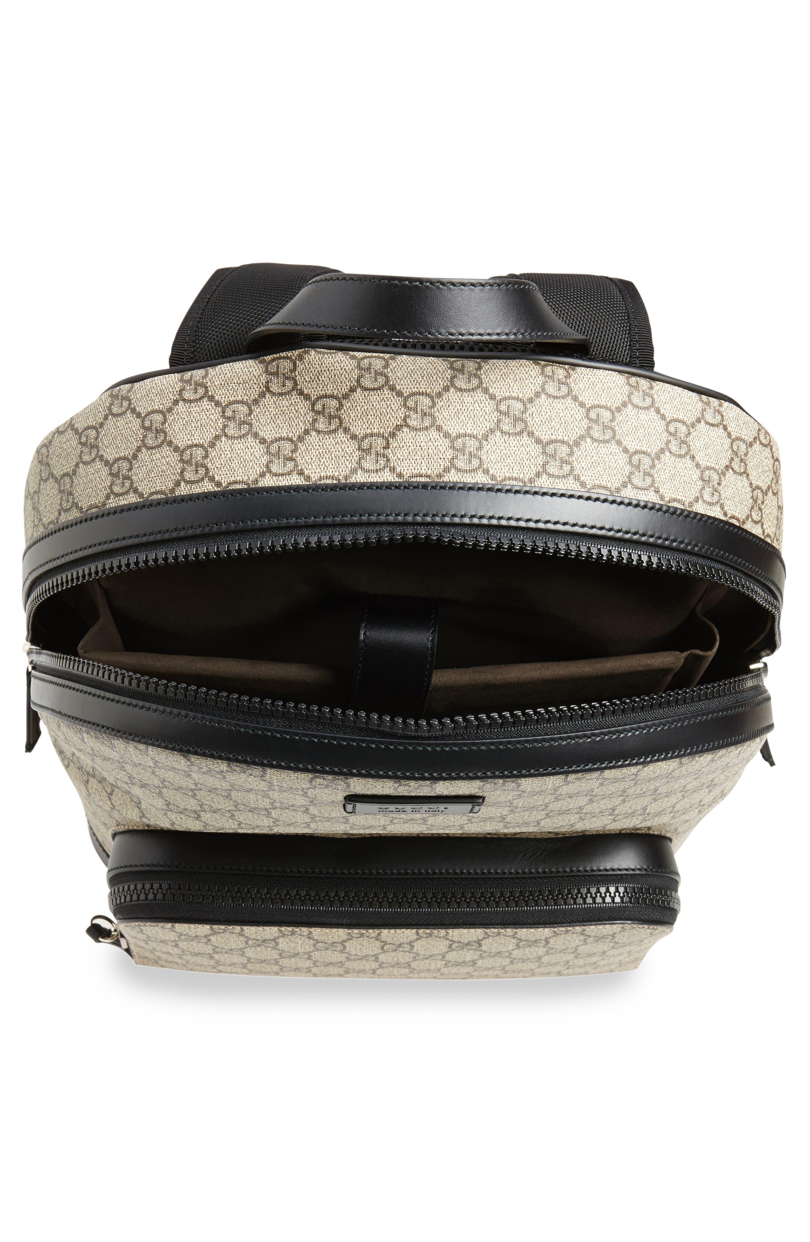 Alternate Image 4  - Gucci Eden Canvas Backpack