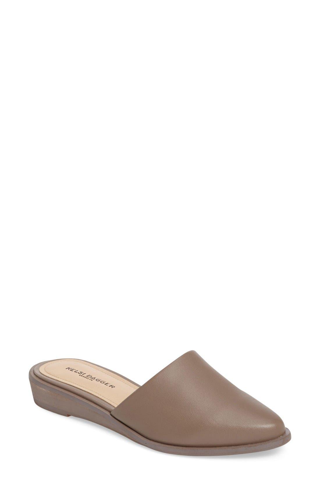 2018 Discount Amory Wedge Slide Women Womens Portobello Leather Kelsi Dagger Brooklyn Womens Shoes