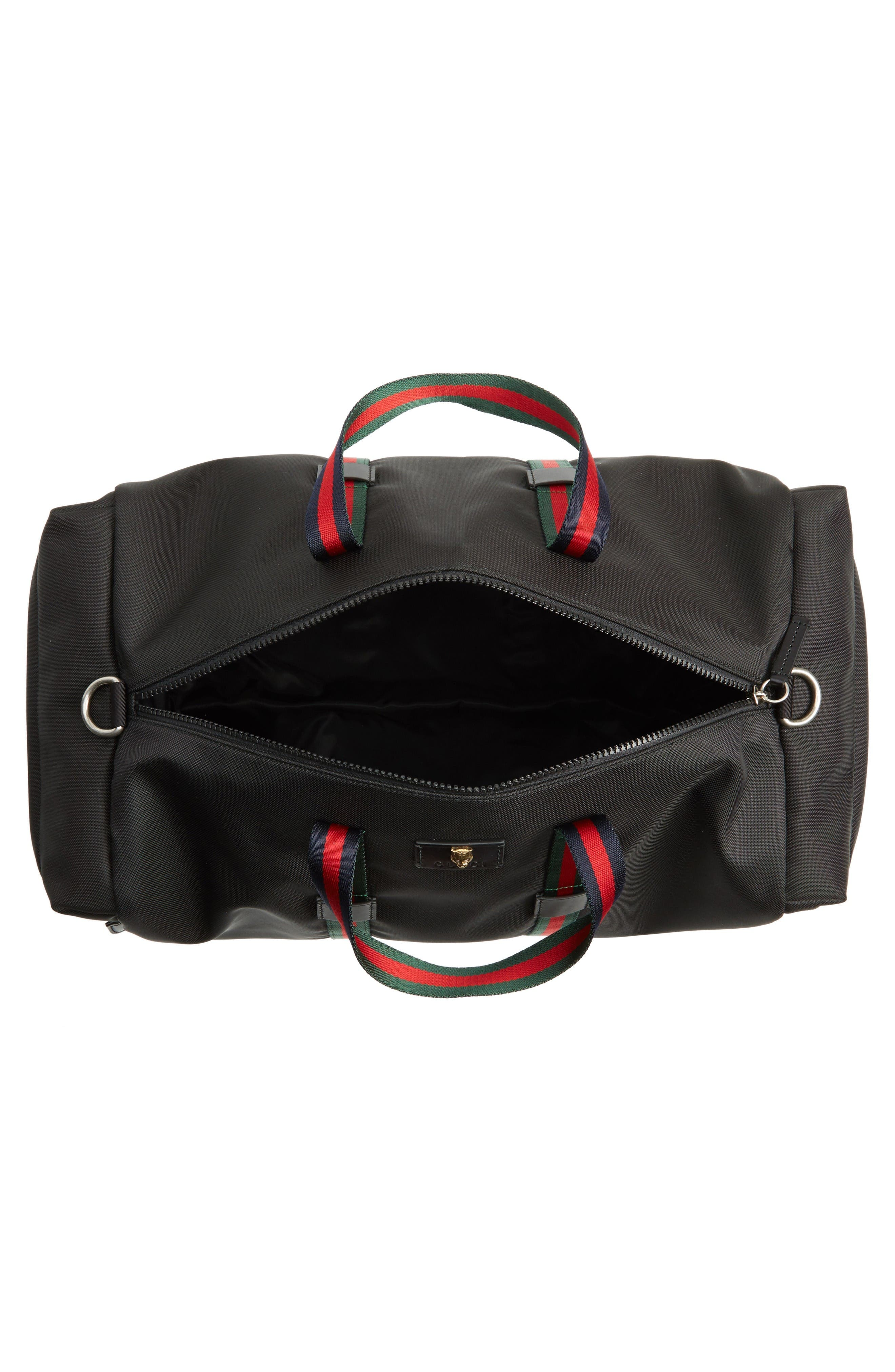 Alternate Image 3  - Gucci Techpack Canvas Duffle Bag