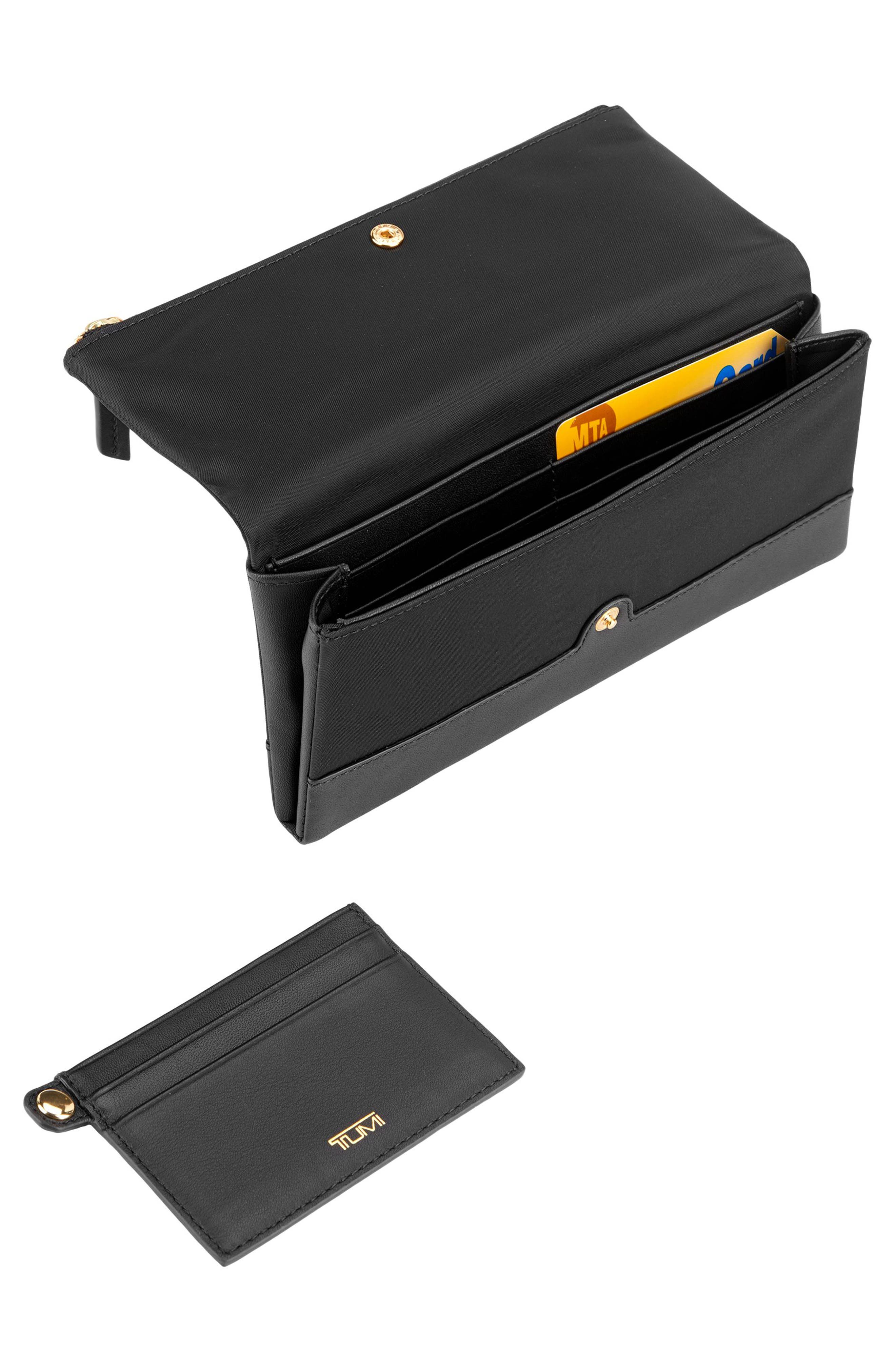 Continental Flap Tech Wallet,                             Alternate thumbnail 2, color,                             Black