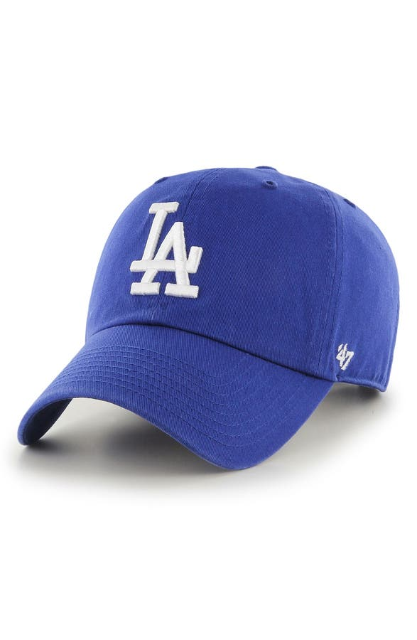 la navy blue baseball cap main image clean up dodgers light baby