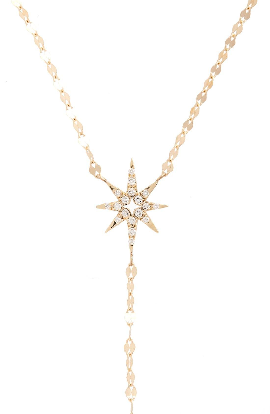 Alternate Image 2  - Lana Jewelry Flawless Diamond Star Y-Necklace