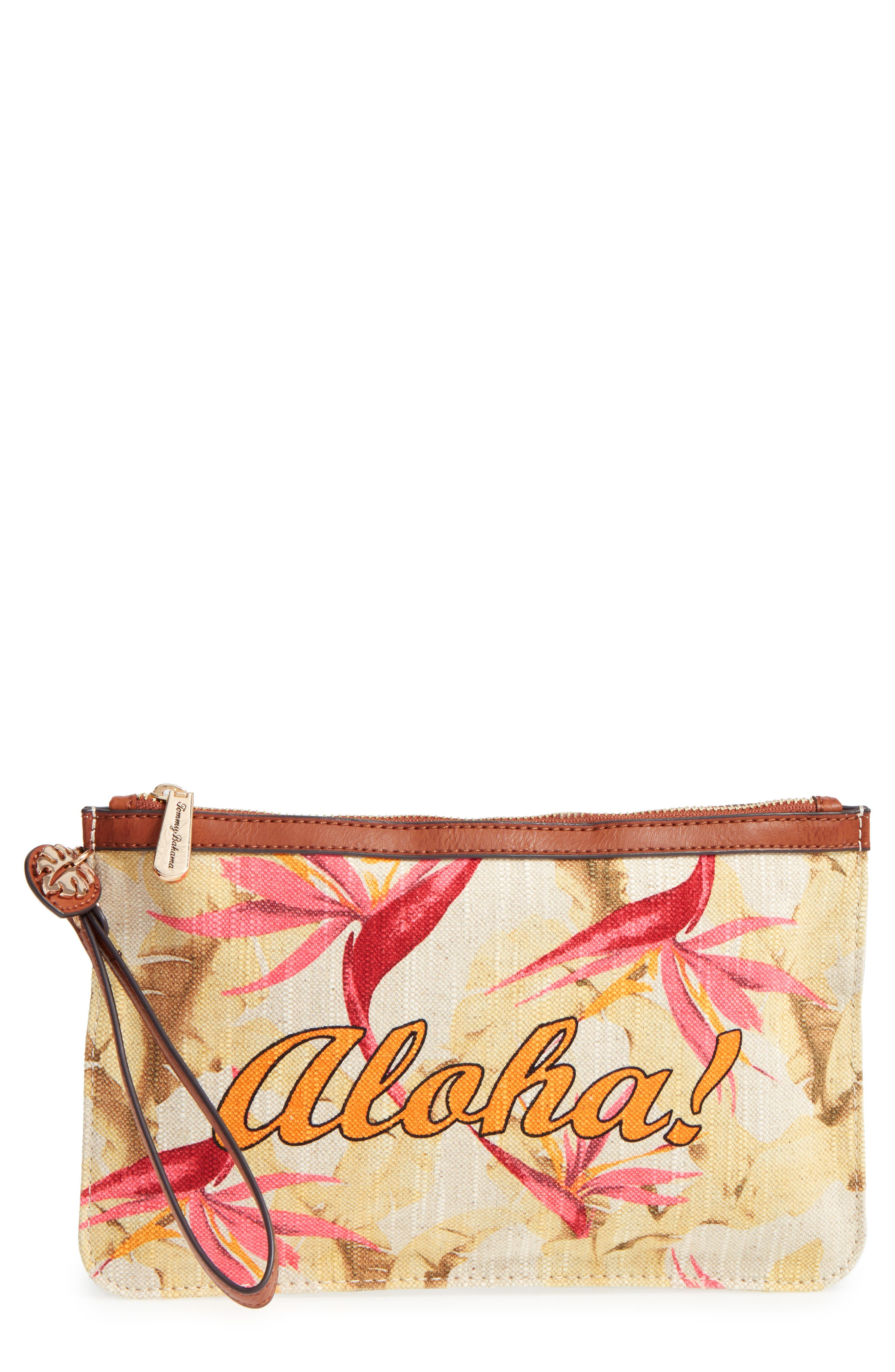 Boca Chica Beach Wristlet,                             Main thumbnail 1, color,                             Aloha