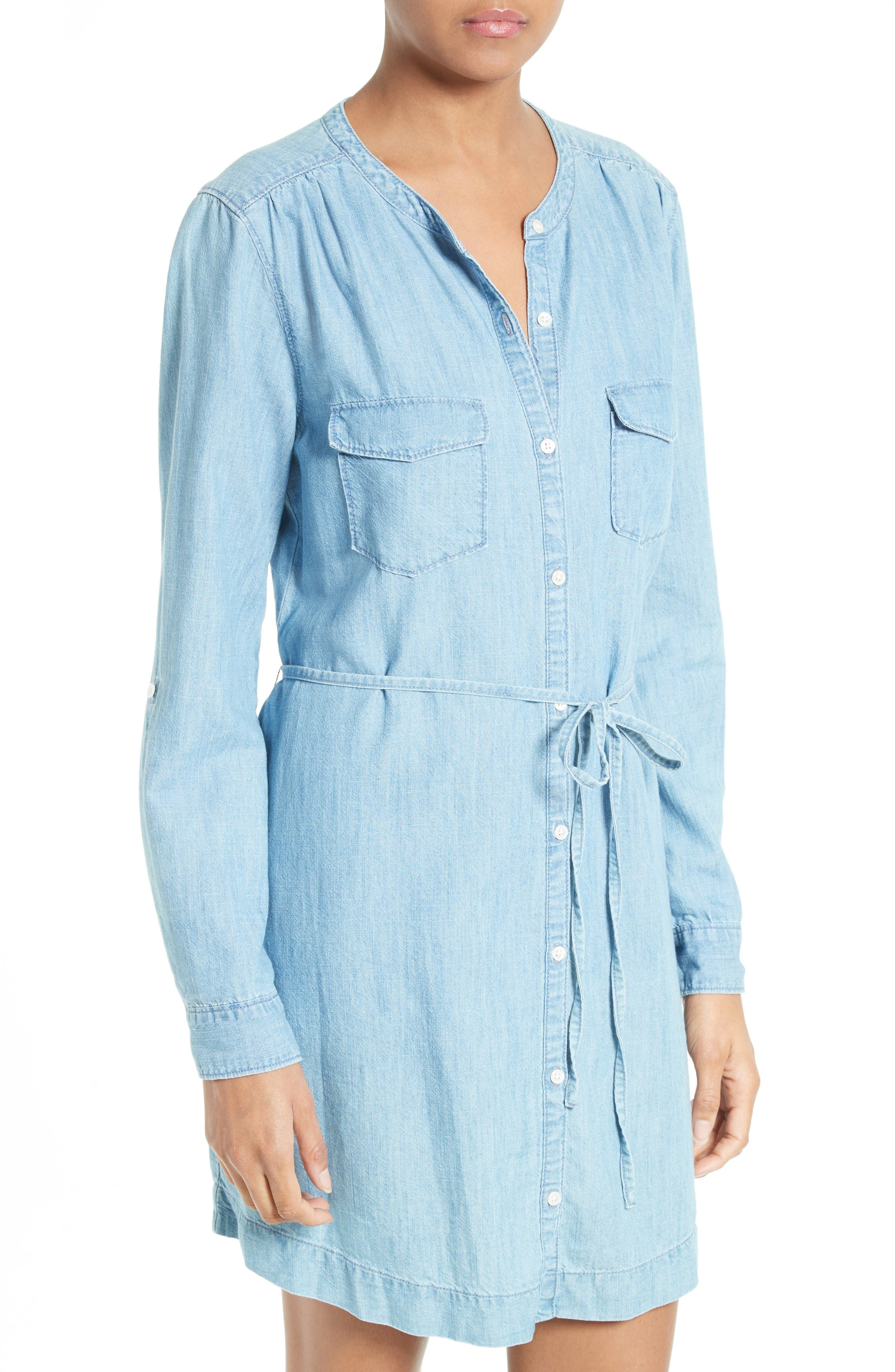 Alternate Image 4  - Soft Joie Milli Chambray Shirtdress