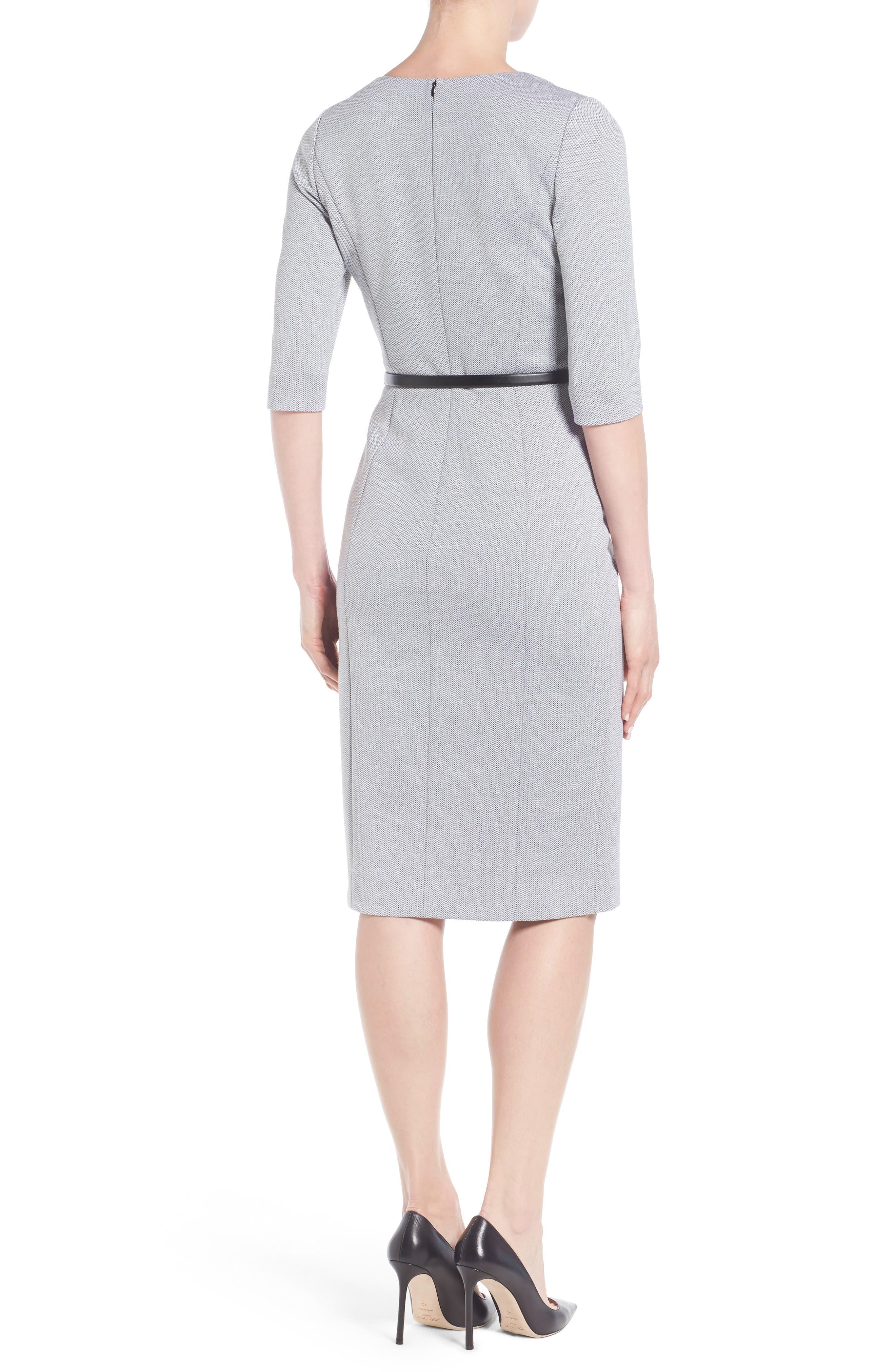 Alternate Image 2  - Classiques Entier® Stretch Knit Sheath Dress
