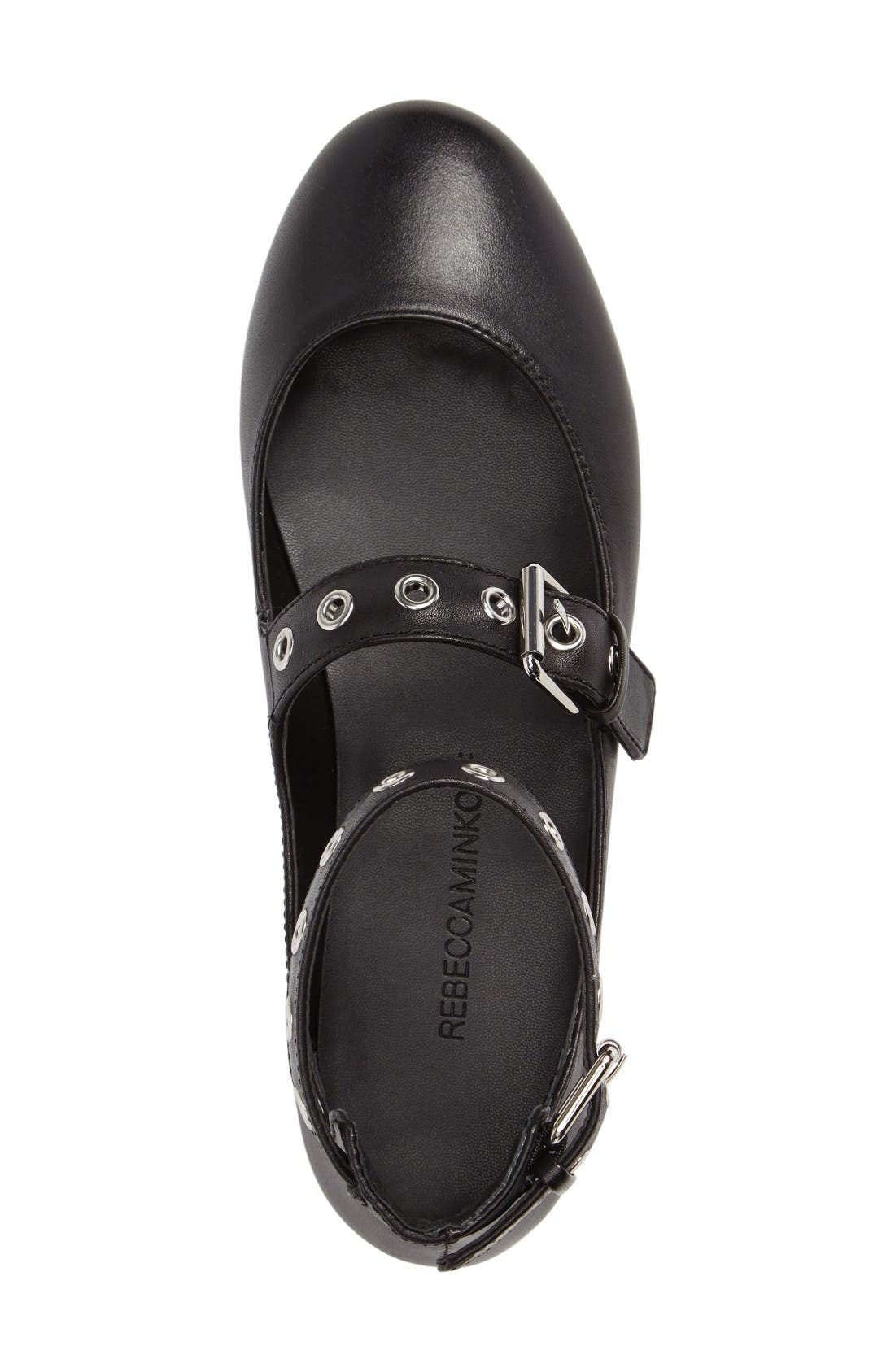 Alternate Image 3  - Rebecca Minkoff Rachel Buckle Strap Flat (Women)