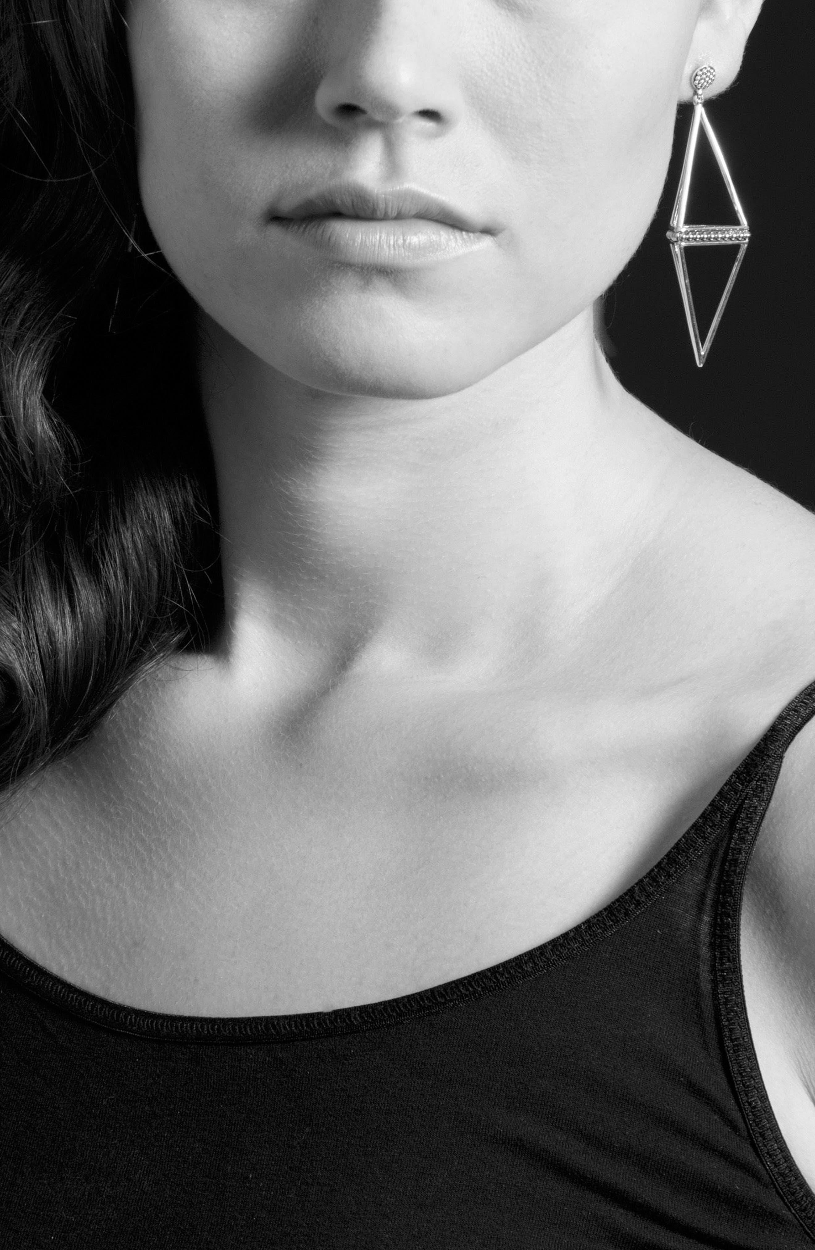 Alternate Image 3  - LAGOS 'KSL' Pyramid Drop Earrings