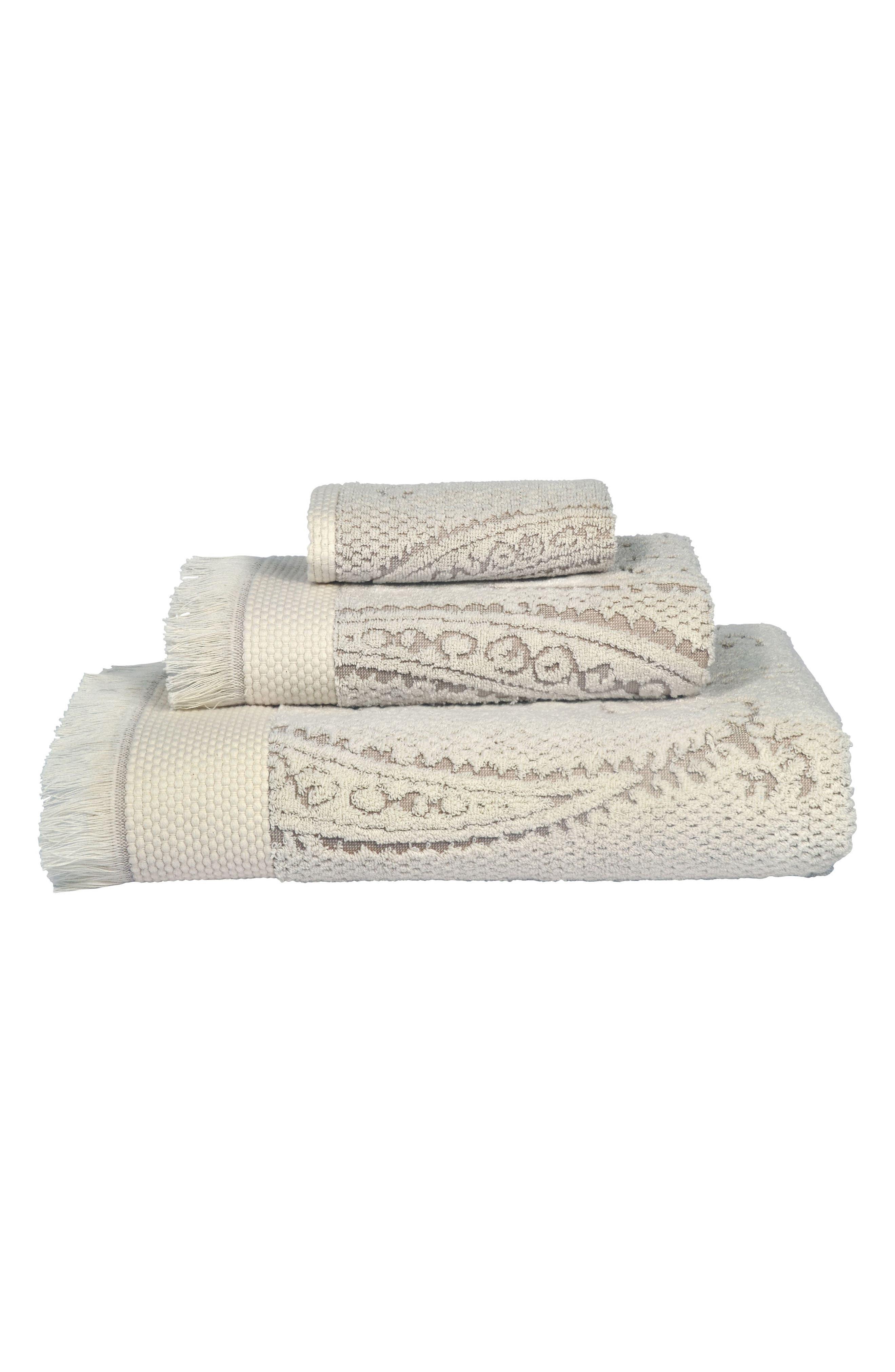 Naji Hand Towel,                             Alternate thumbnail 2, color,                             Linen