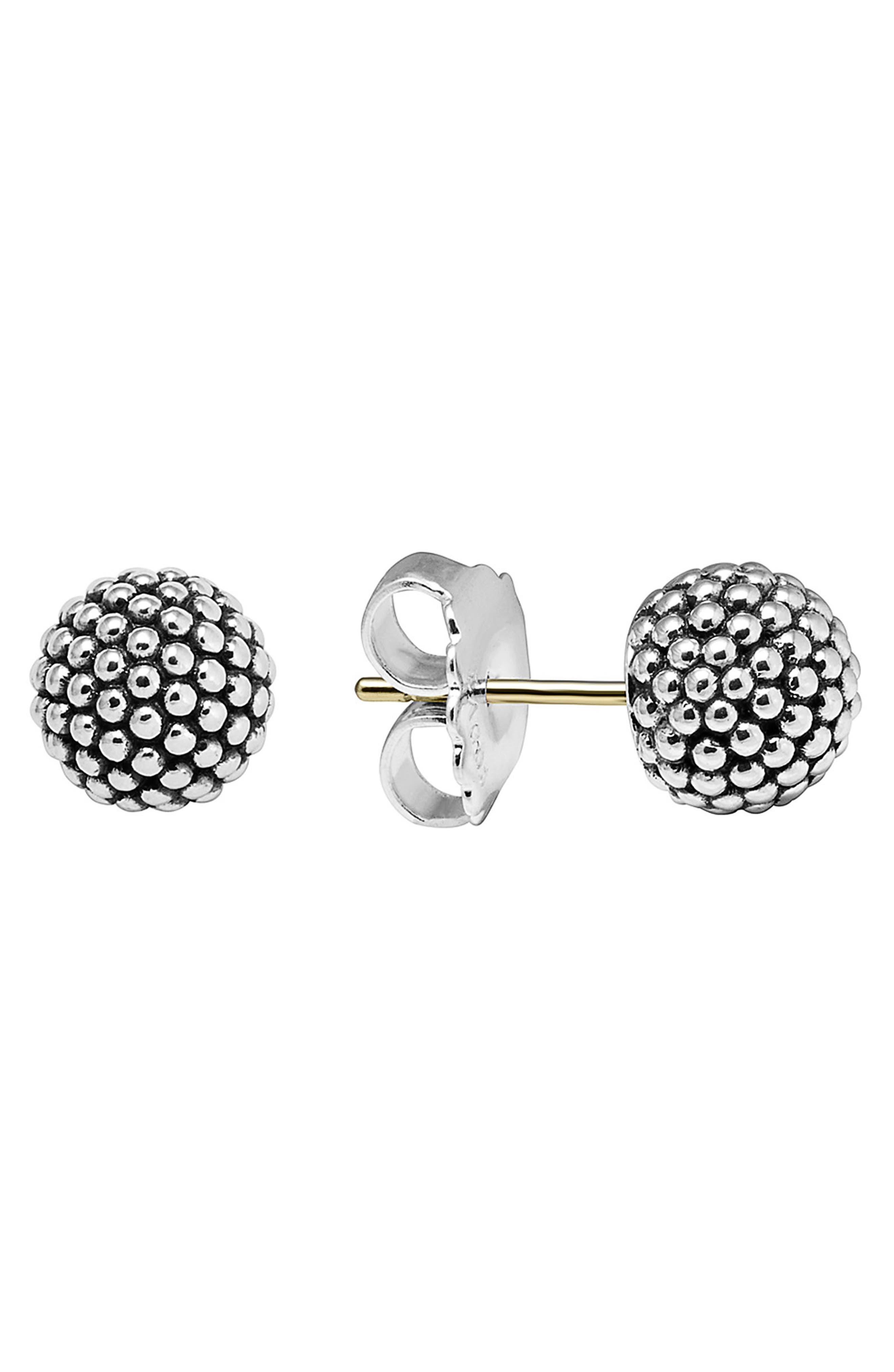 LAGOS Columbus Circle Ball Stud Earrings
