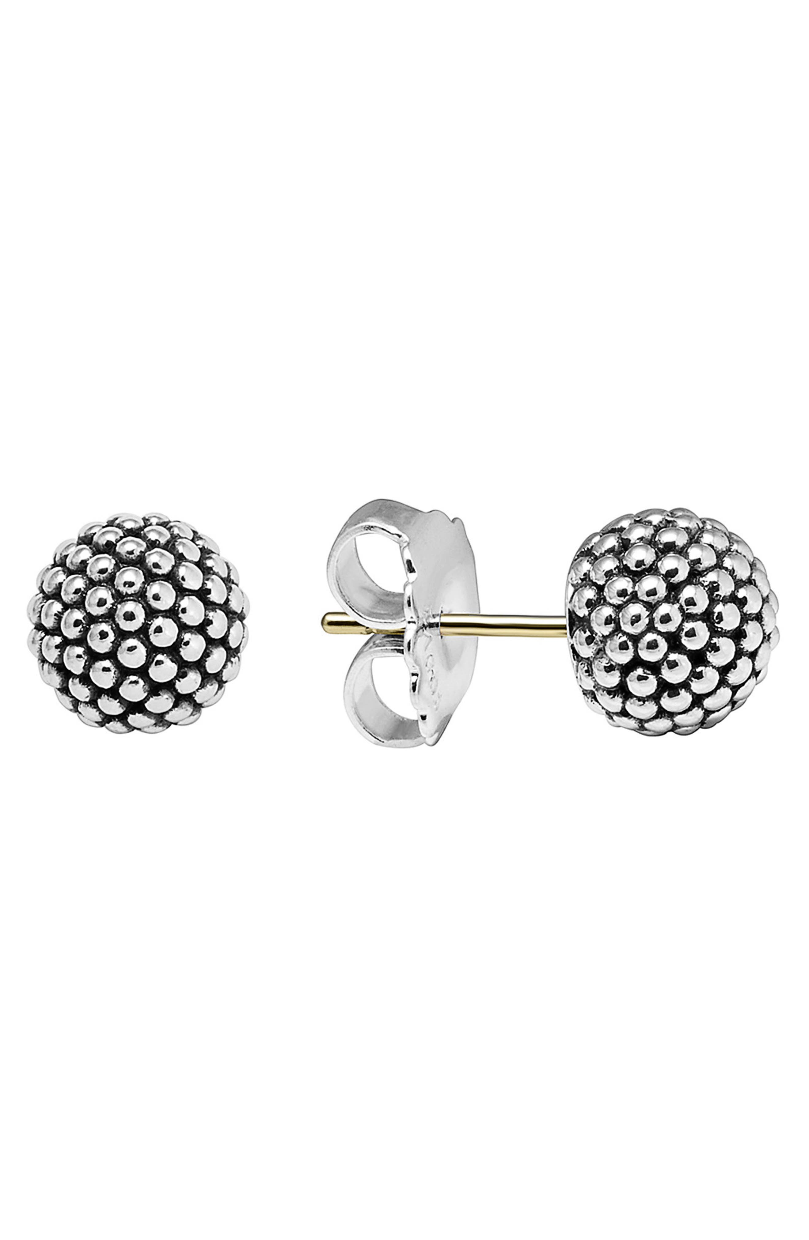 Alternate Image 1 Selected - LAGOS 'Columbus Circle' Ball Stud Earrings