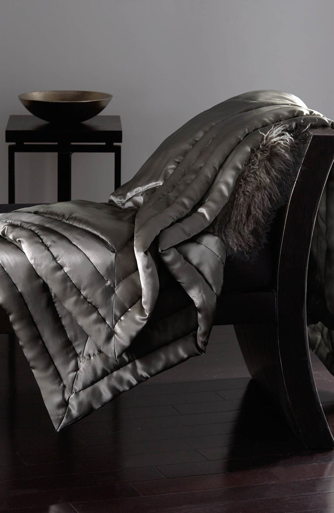 donna karan new york silk throw