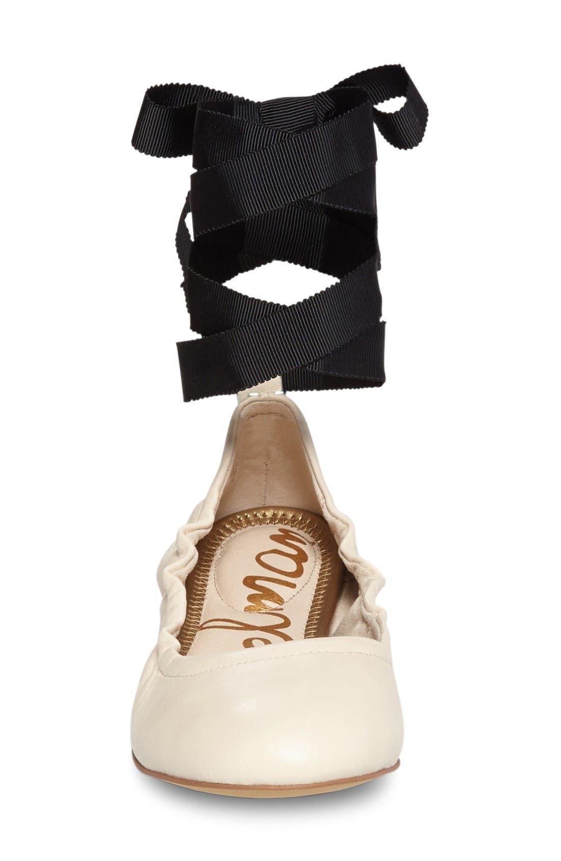 Alternate Image 3  - Sam Edelman Fallon Wraparound Tie Flat (Women)