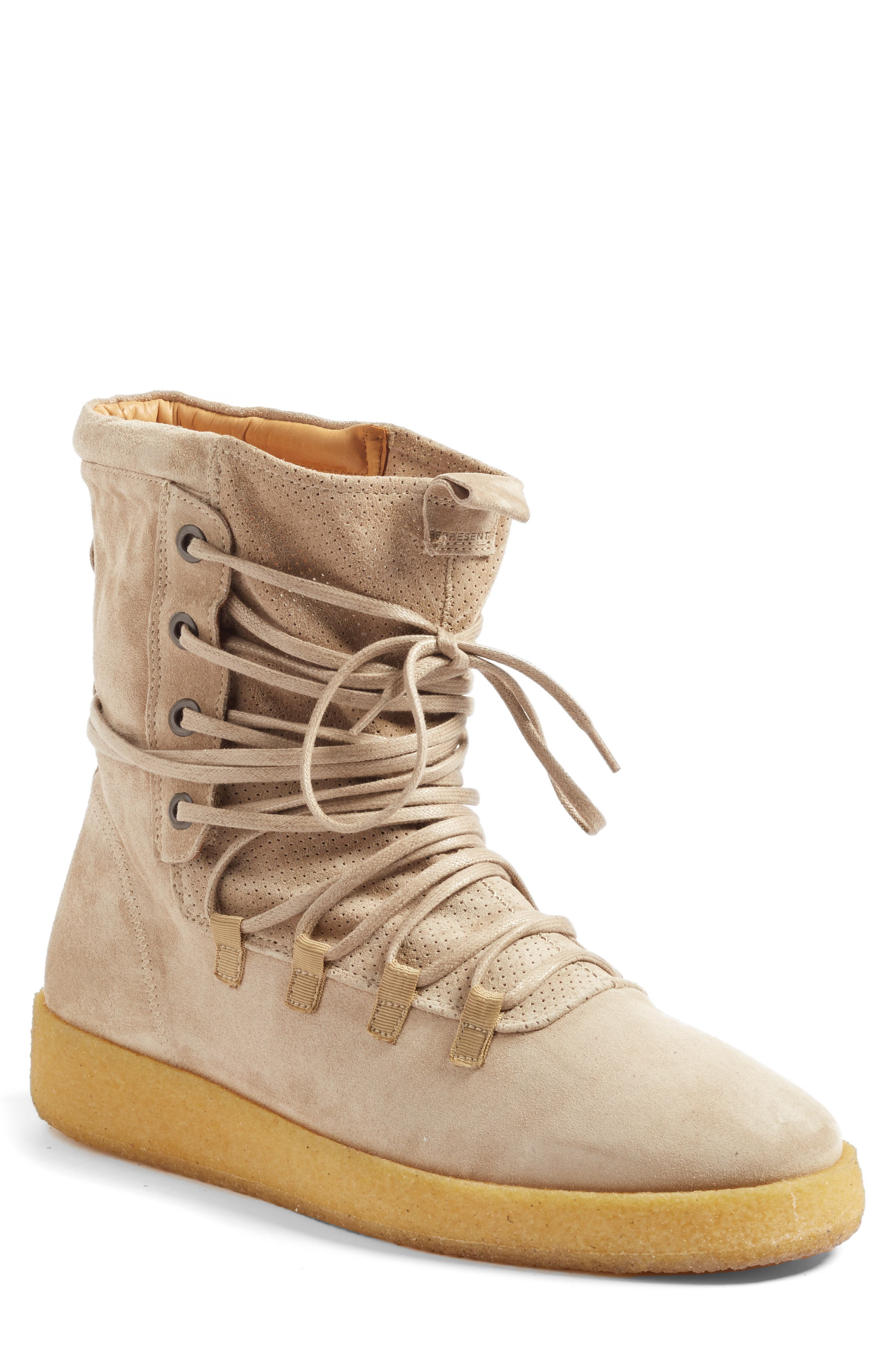 Dusk Boot,                         Main,                         color, Stone Suede