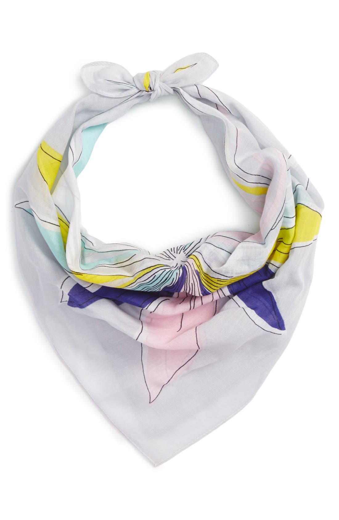 Alternate Image 1 Selected - Echo Floral Cotton Scarf