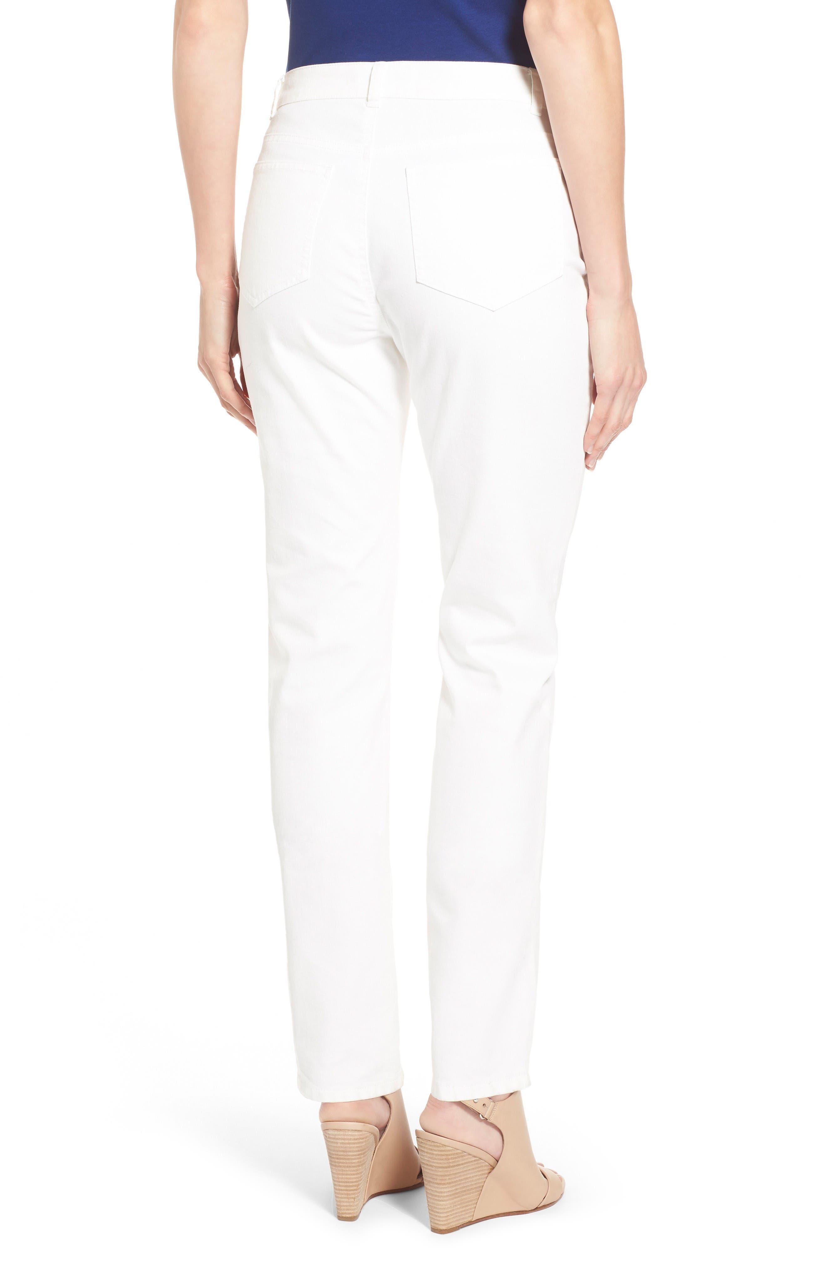 Alternate Image 2  - Lafayette 148 New York Curvy Fit Jeans