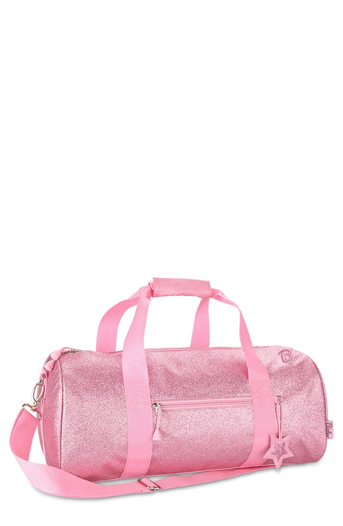Bixbee 'Large Sparkalicious' Dance & Sports Duffel Bag (Girls)