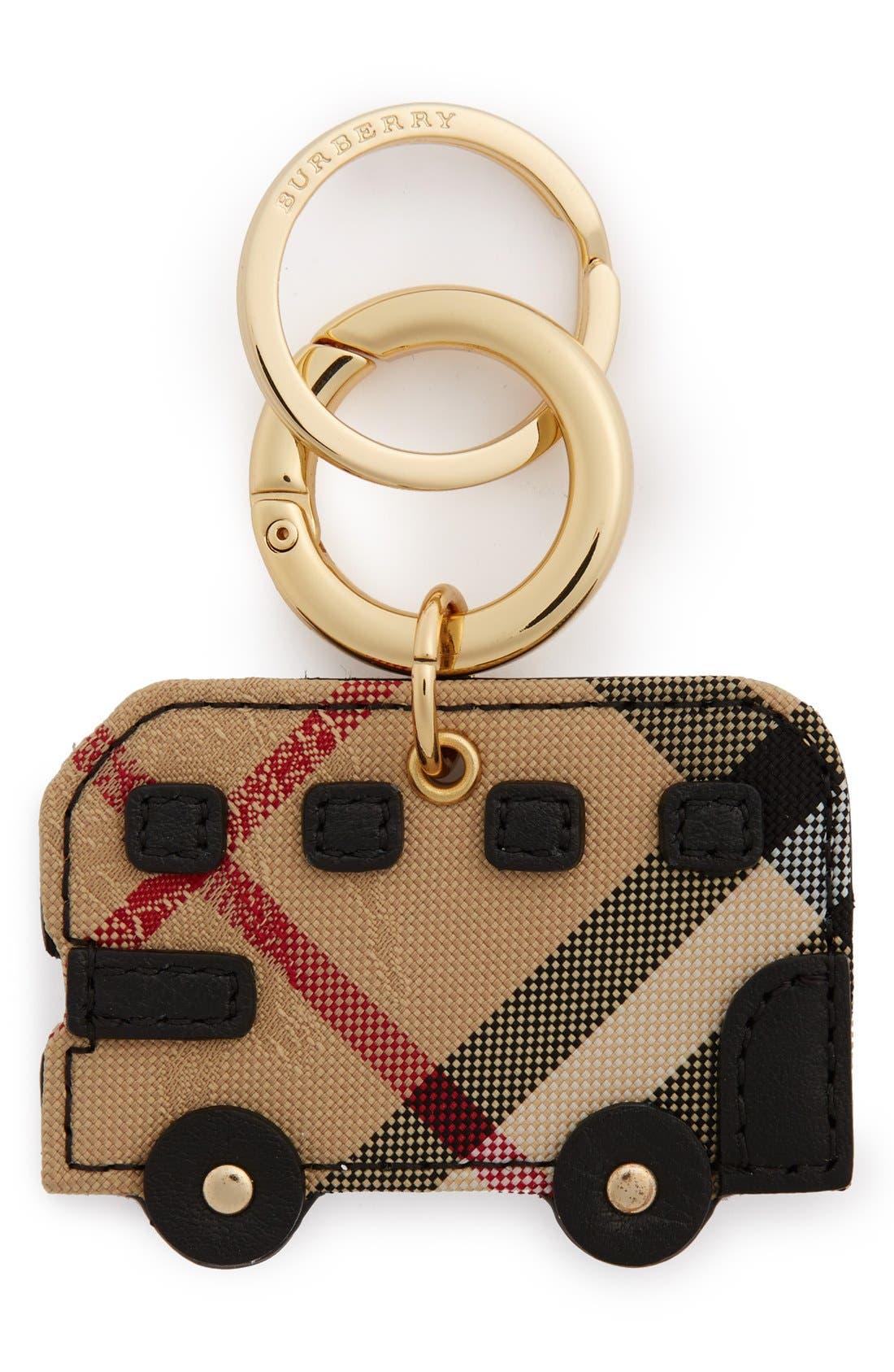 Main Image - Burberry 'Horseferry Check' London Bus Bag Charm