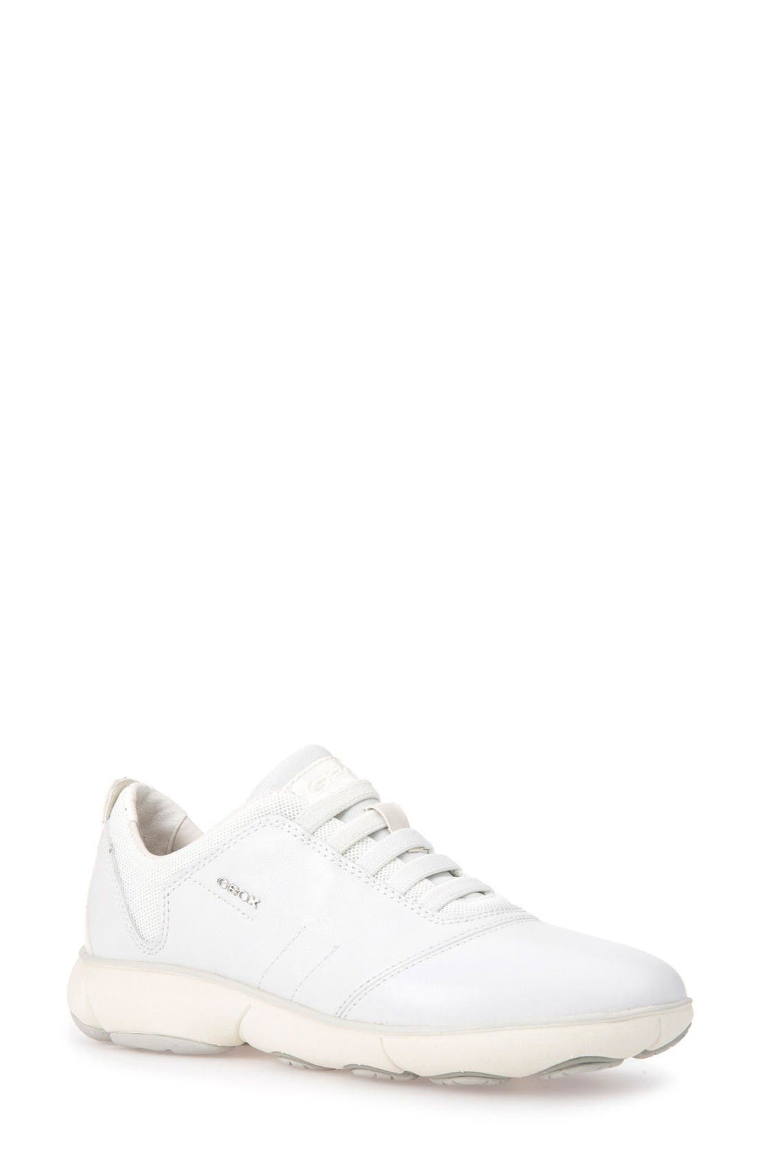 Nebula Slip-On Sneaker,                         Main,                         color, White Leather