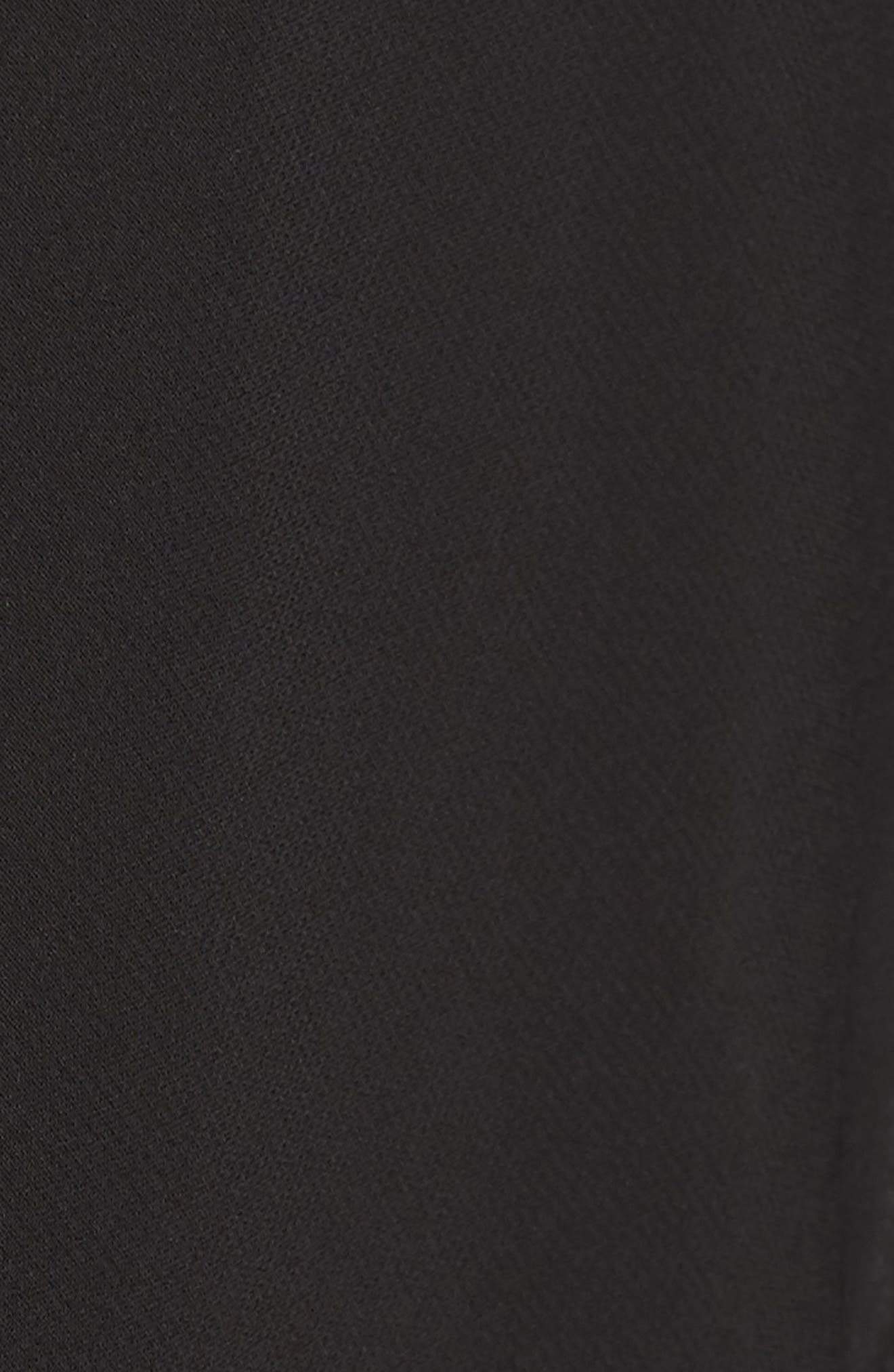 Chiffon Bolero,                             Alternate thumbnail 5, color,                             Black