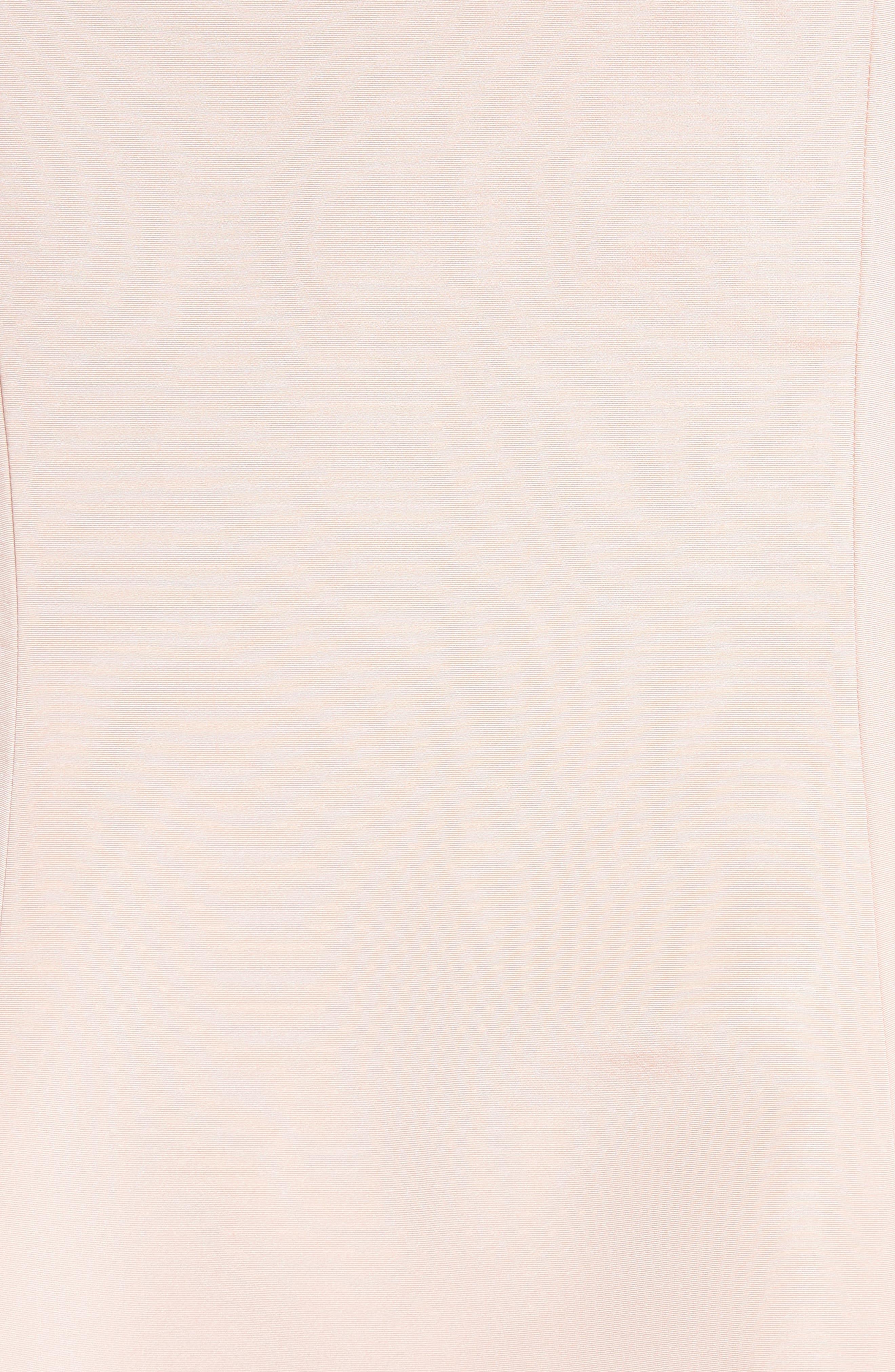 Alternate Image 3  - Carolina Herrera Draped V-Back Gown