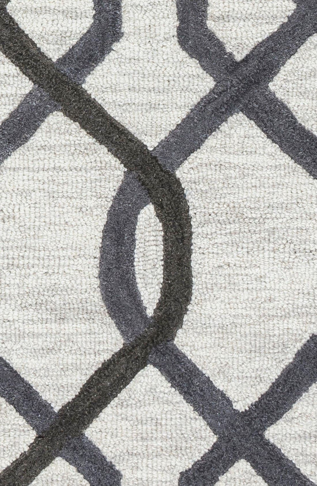Alternate Image 4  - Rizzy Home 'Caterine Lines' Hand Tufted Wool Area Rug