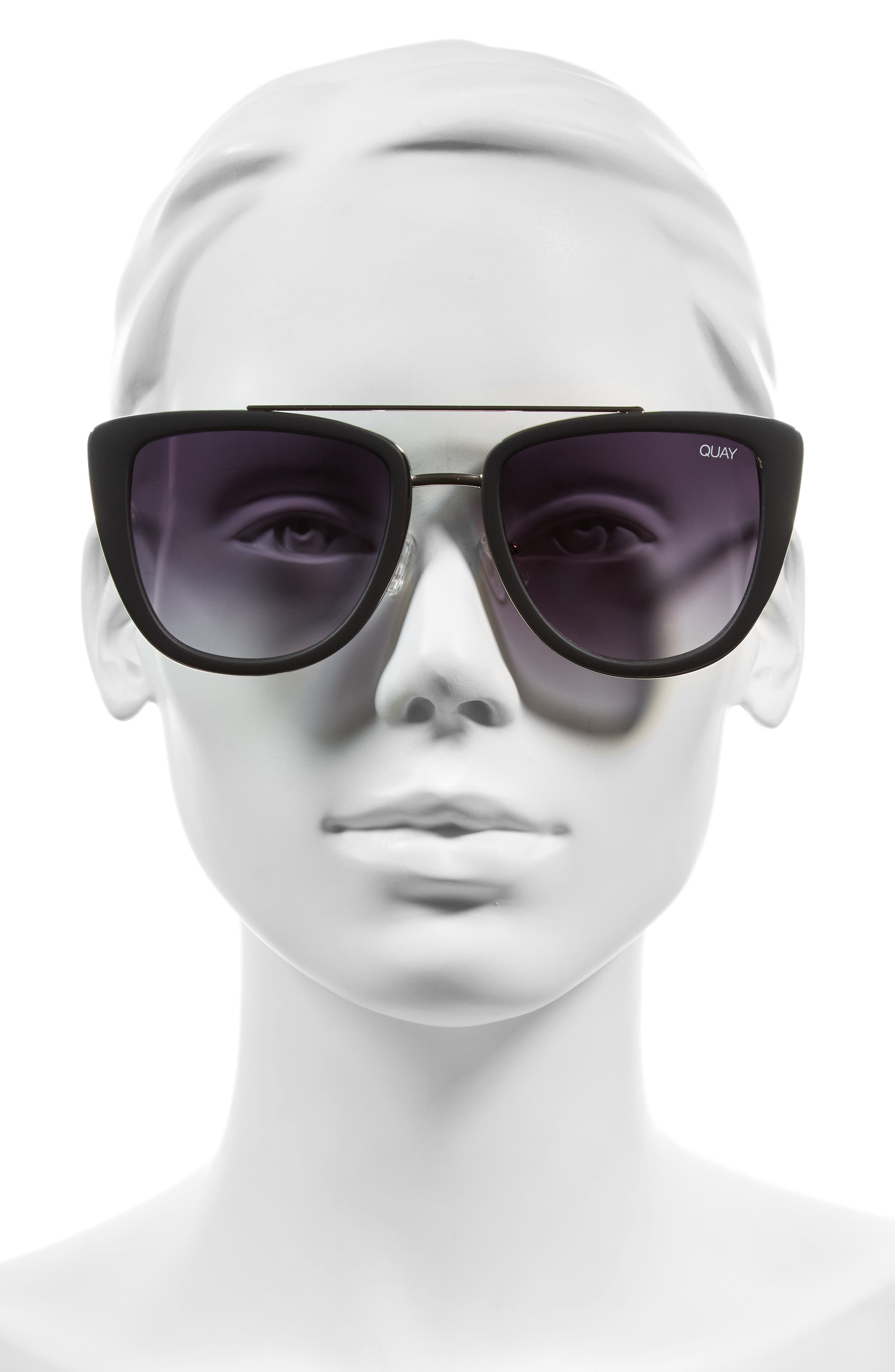 Alternate Image 3  - Quay Australia French Kiss 55mm Cat Eye Sunglasses