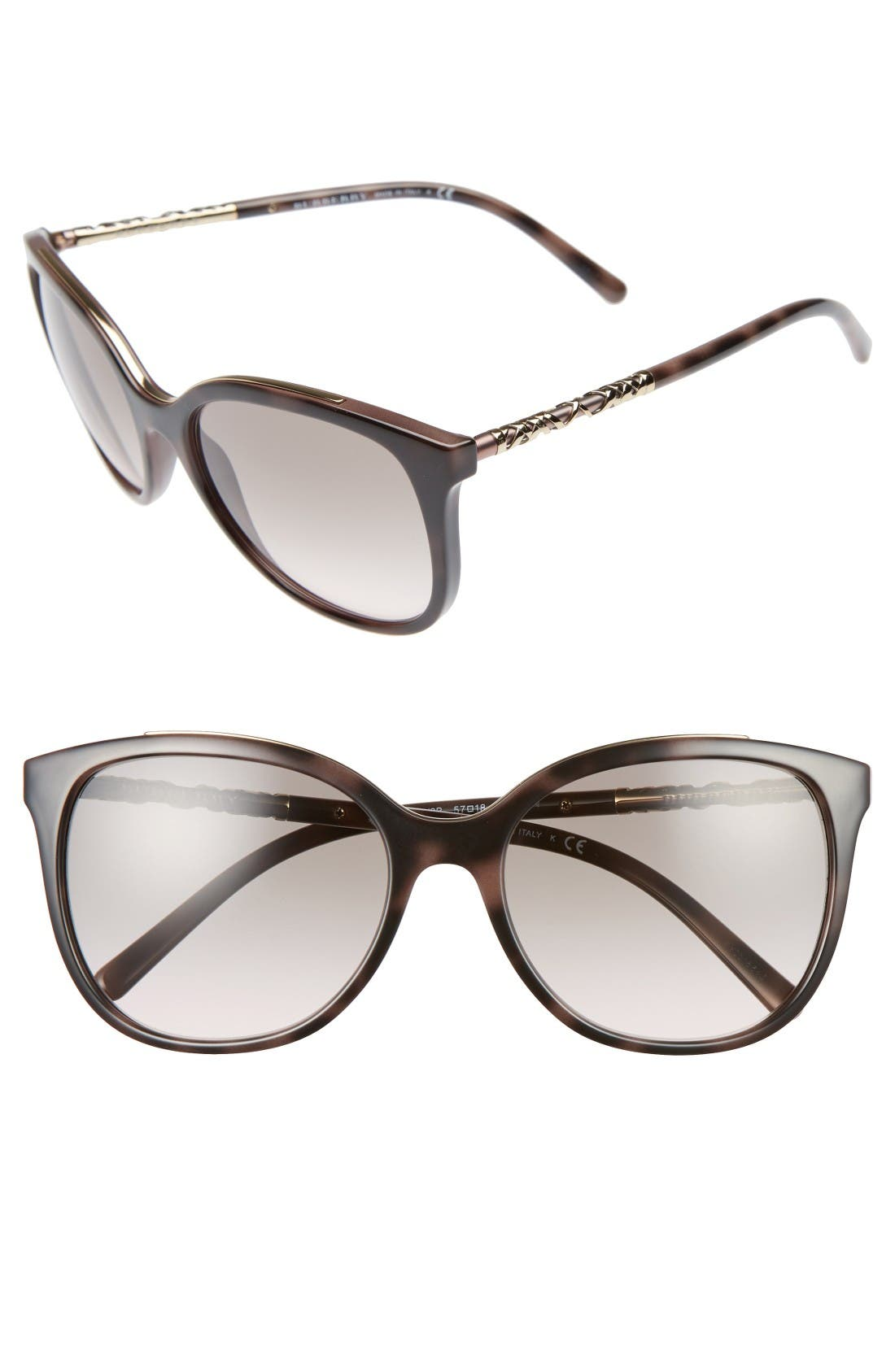 Main Image - Burberry 57mm Sunglasses