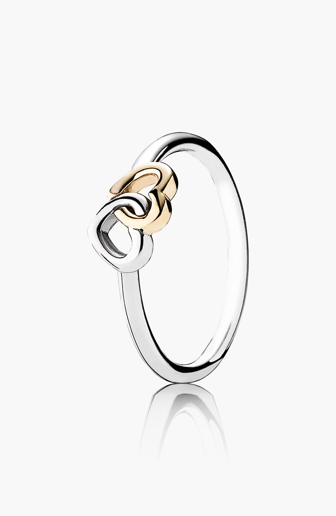 Alternate Image 1 Selected - PANDORA 'Heart to Heart' Ring