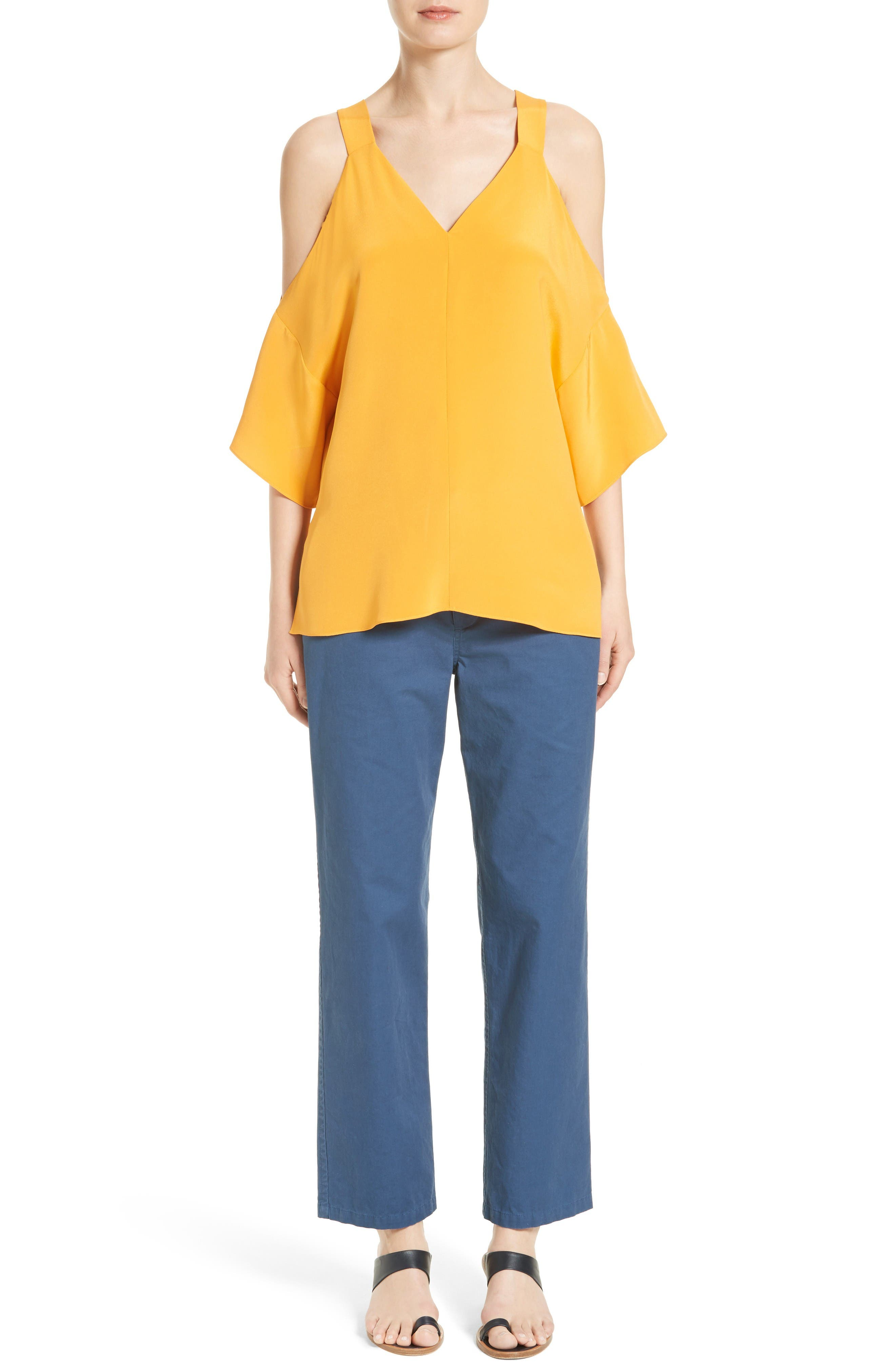 Alternate Image 2  - Tibi Slouchy Enzyme Twill Pants