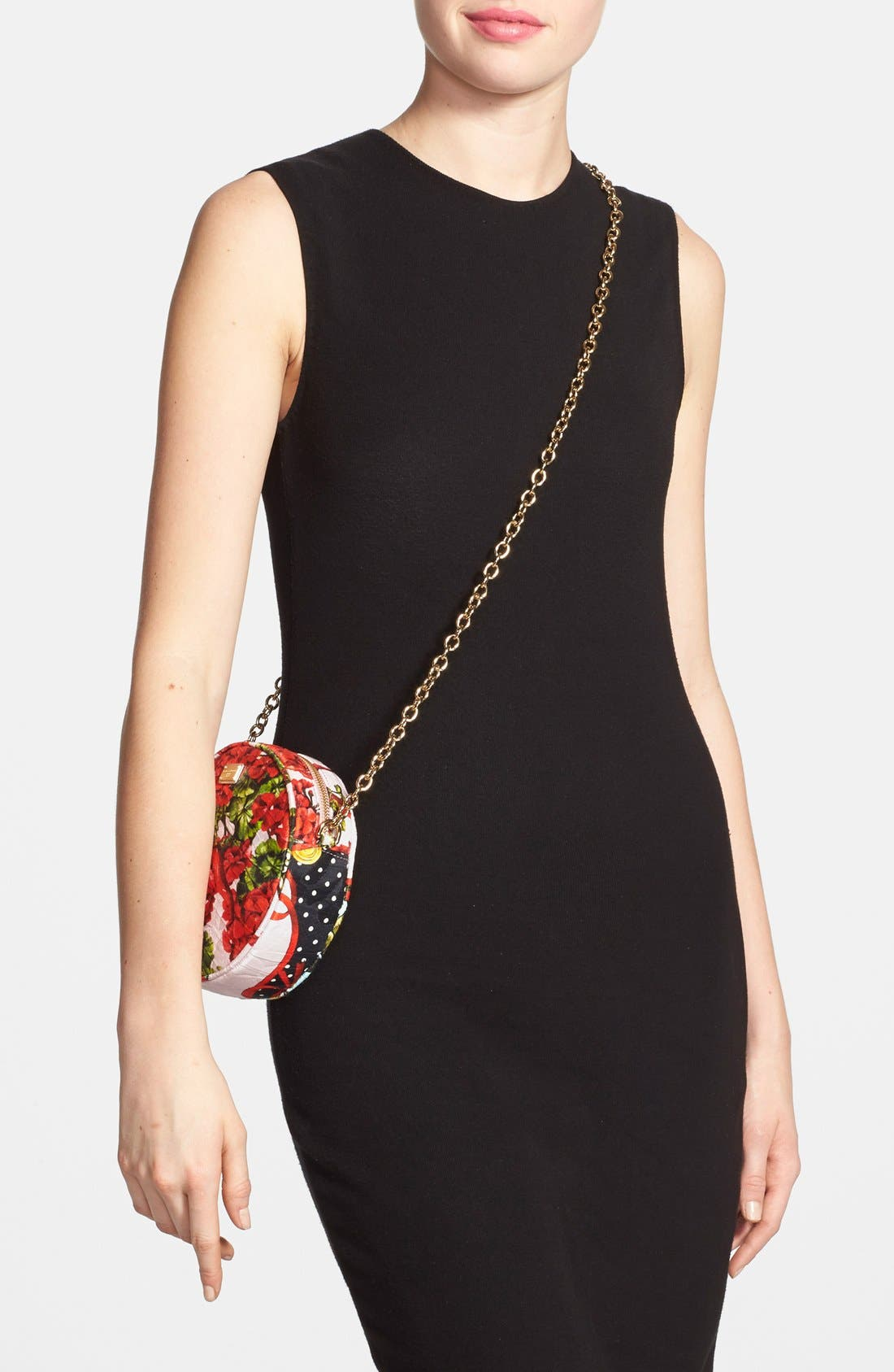 Alternate Image 2  - Dolce&Gabbana 'Miss Glam' Floral Print Crossbody Bag