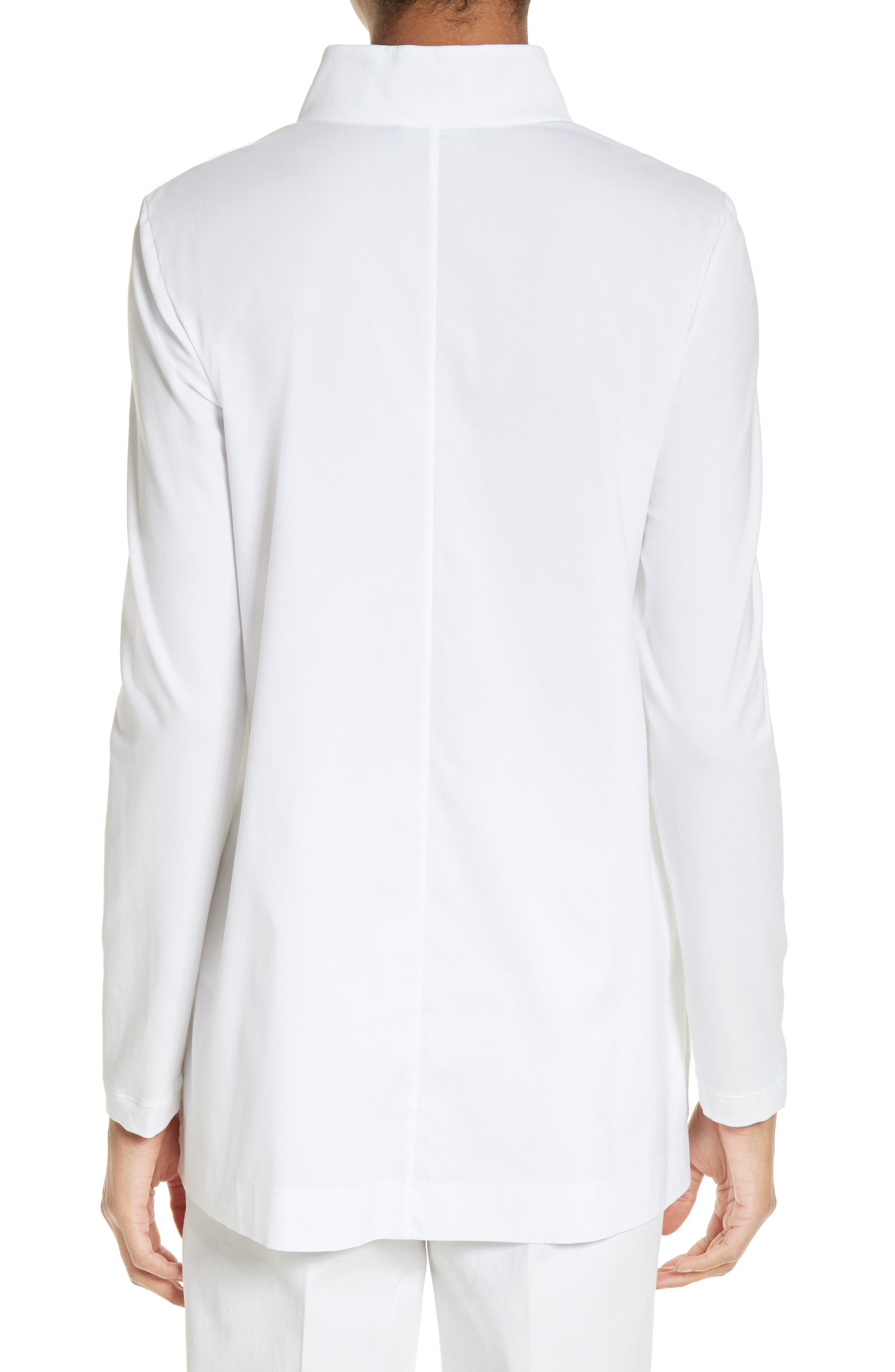 Alternate Image 2  - Lafayette 148 New York Marco Jersey Sleeve Tunic