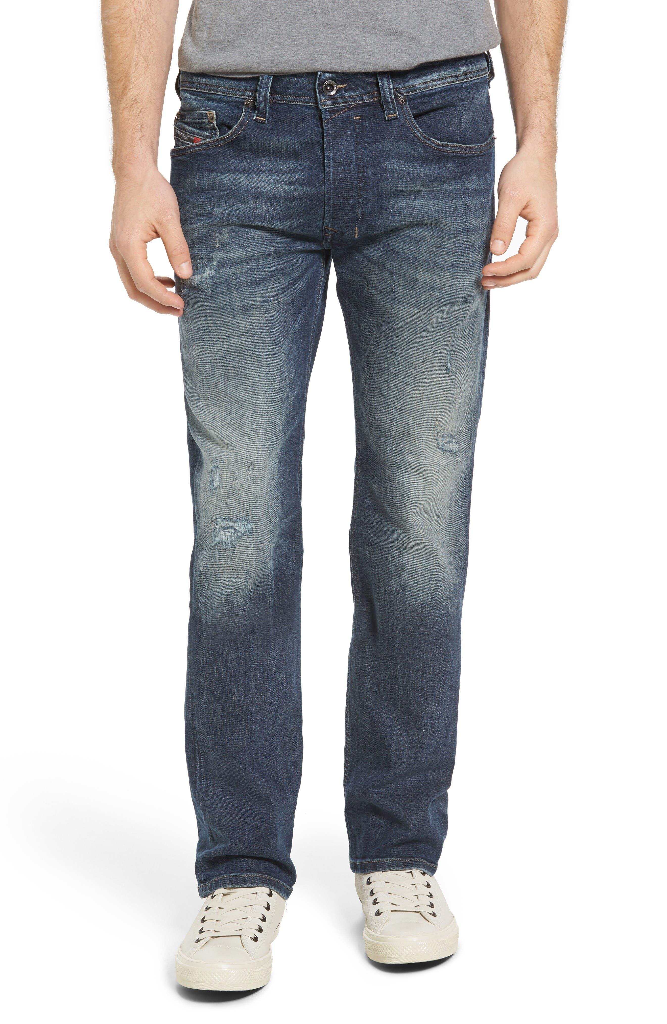 Safado Slim Straight Fit Jeans,                             Main thumbnail 1, color,                             860K
