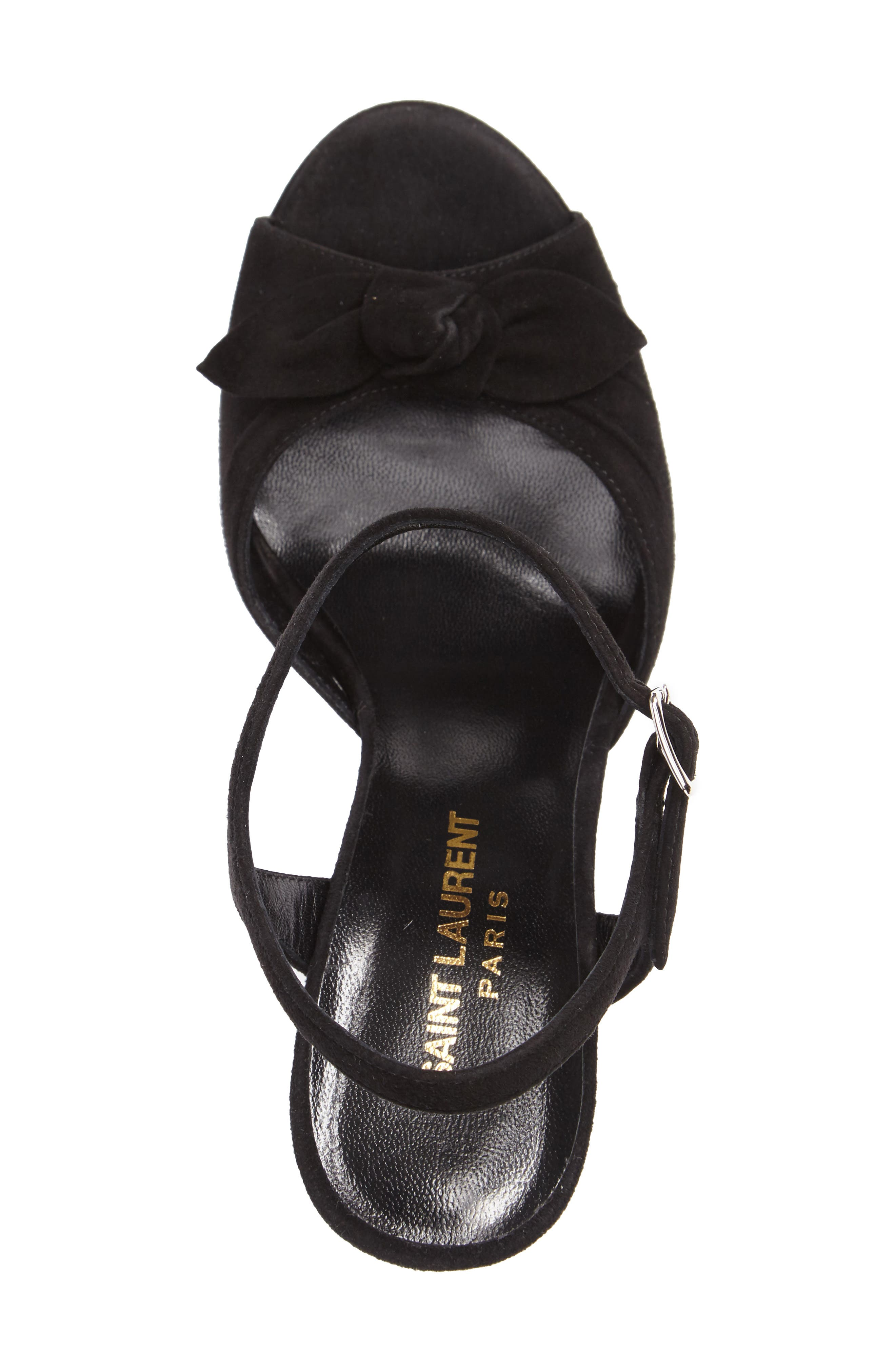 Alternate Image 3  - Saint Laurent Betty Platform Sandal (Women)