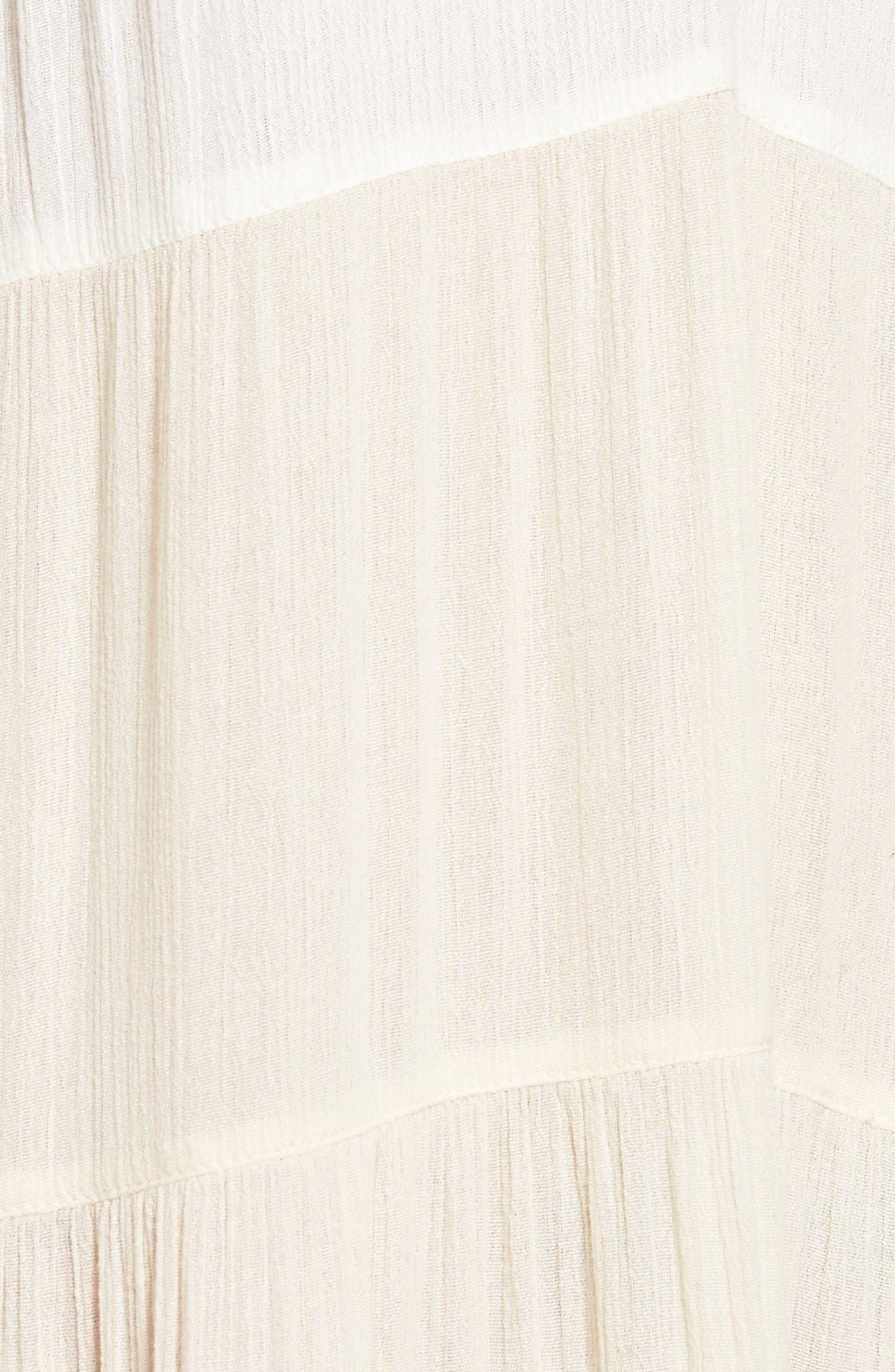 Alternate Image 5  - Sun & Shadow Colorblock Maxi Dress