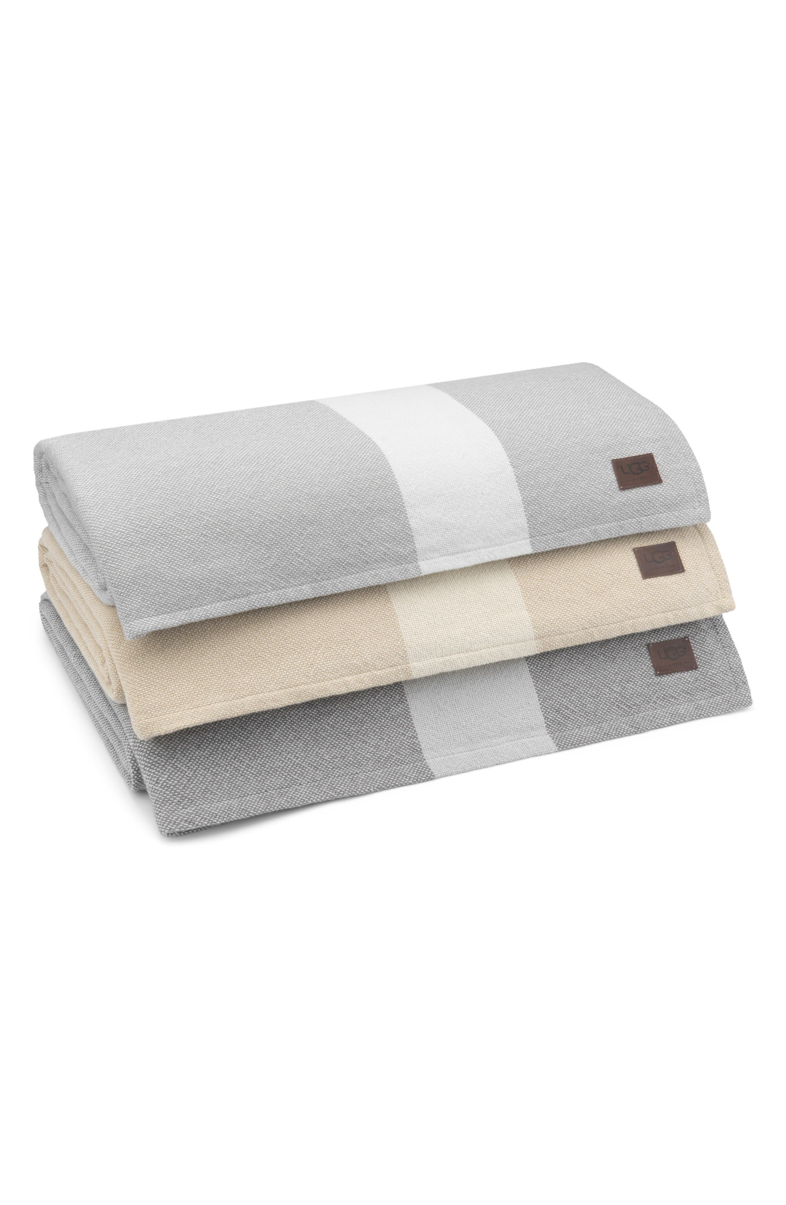 Alternate Image 2  - UGG® Coastal Heritage Blanket