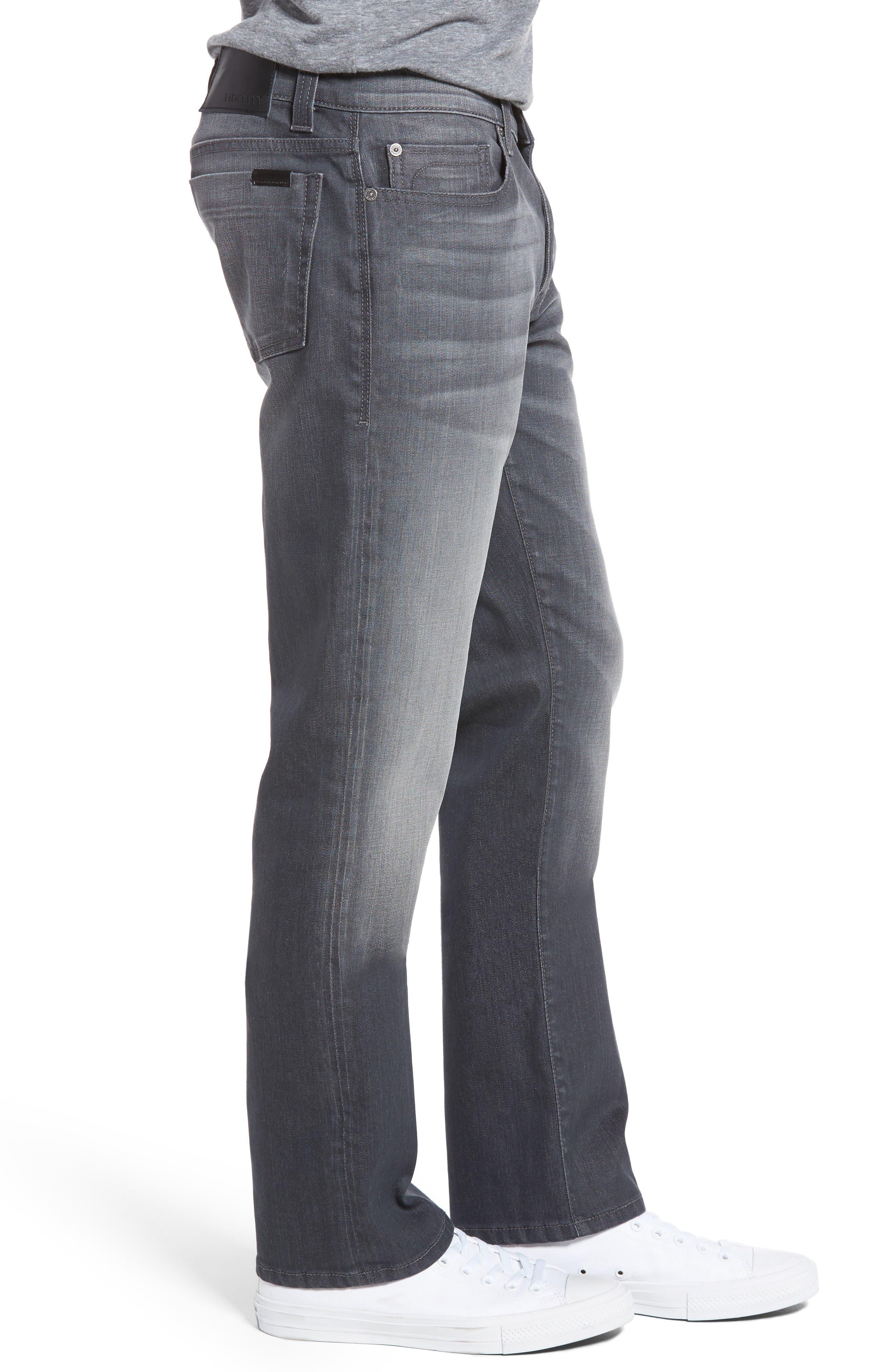 Alternate Image 3  - Fidelity Denim Impala Straight Leg Jeans (River Dark)
