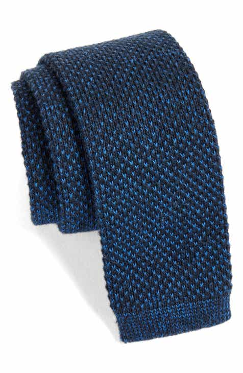 e504495bf5cf Nordstrom Men's Shop Skinny Knit Cotton Tie