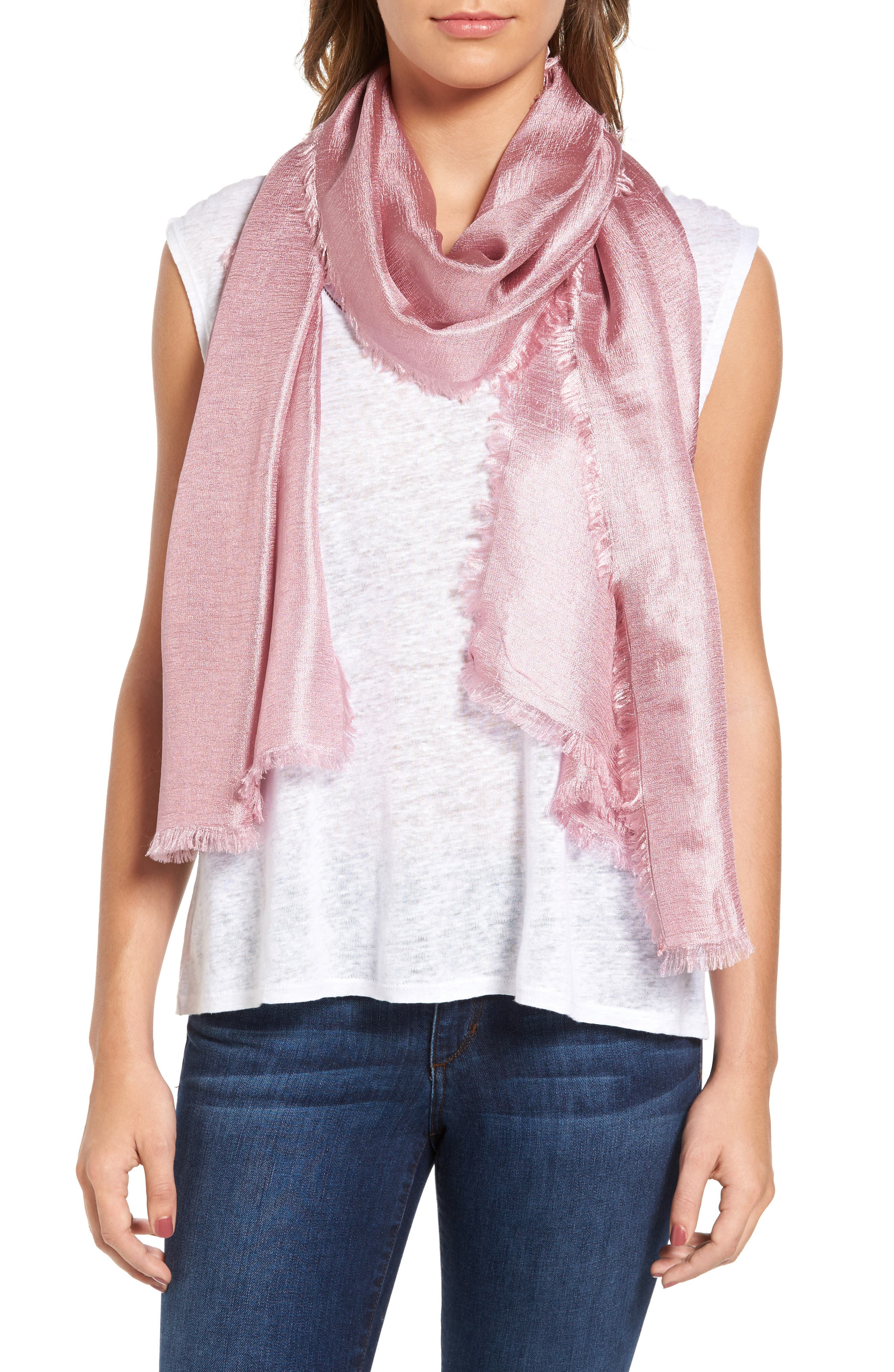 Modal Scarf - Purple Reef by St. James Whitting St James Whitting dDvFMPvM