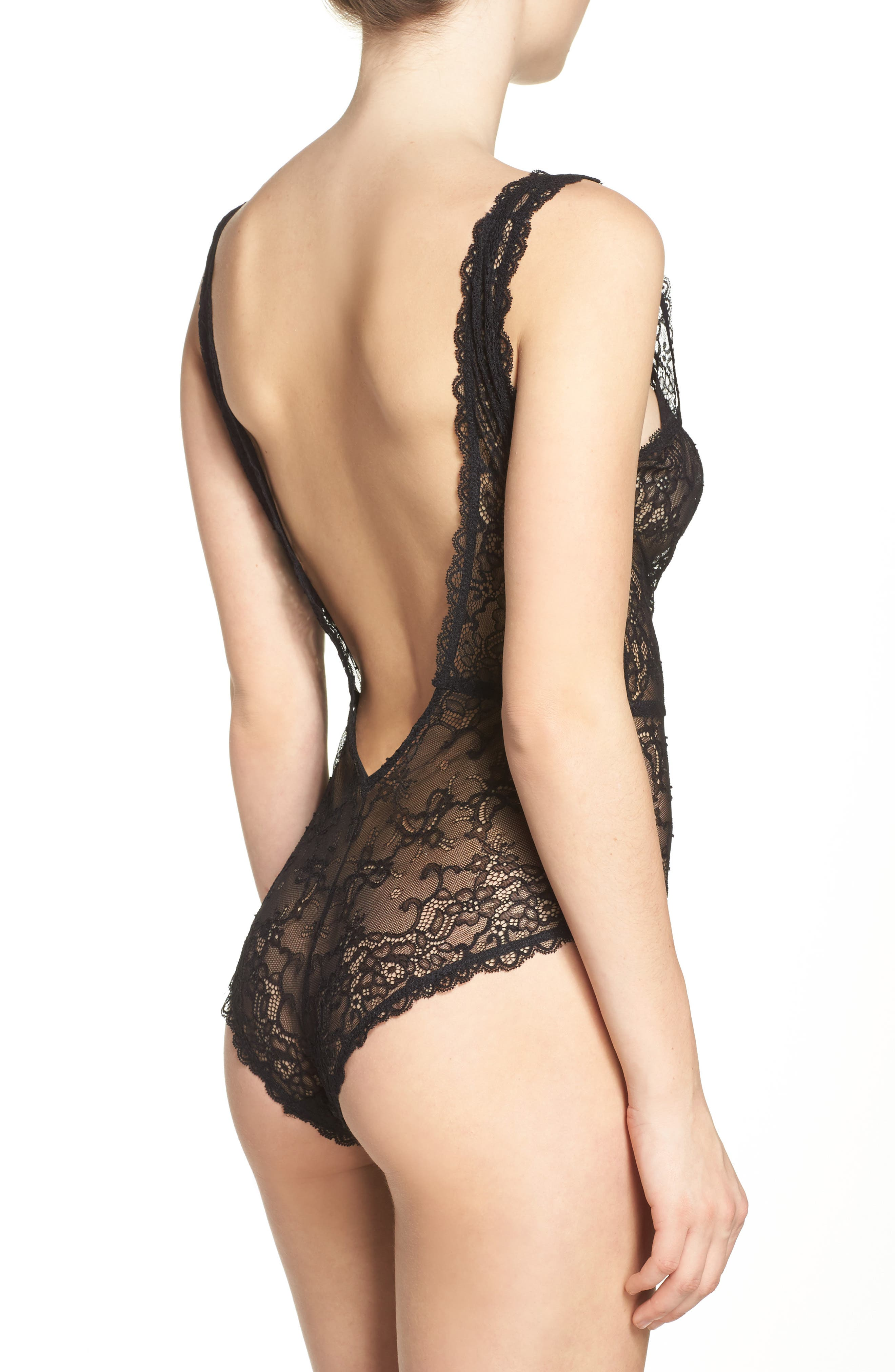 Alternate Image 2  - Chelsea28 Lace Bodysuit